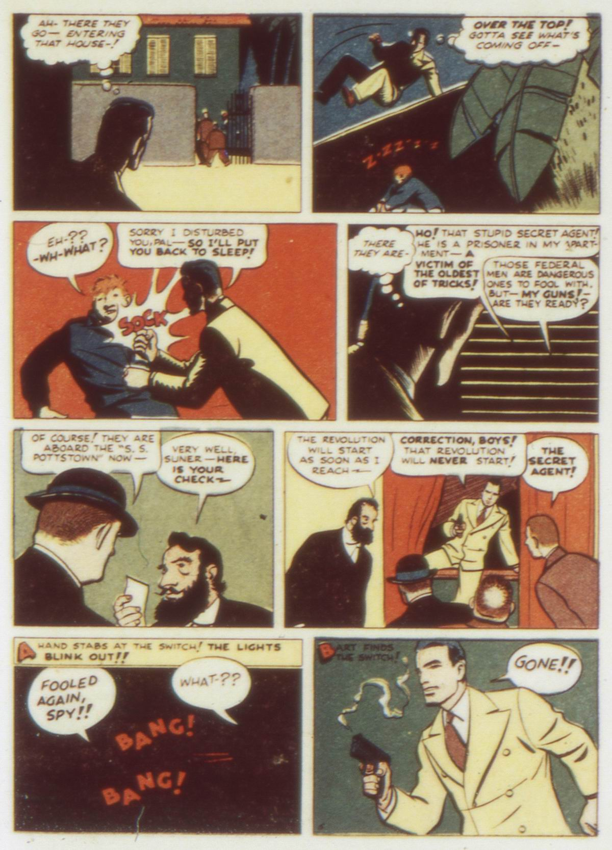 Read online Detective Comics (1937) comic -  Issue #58 - 21
