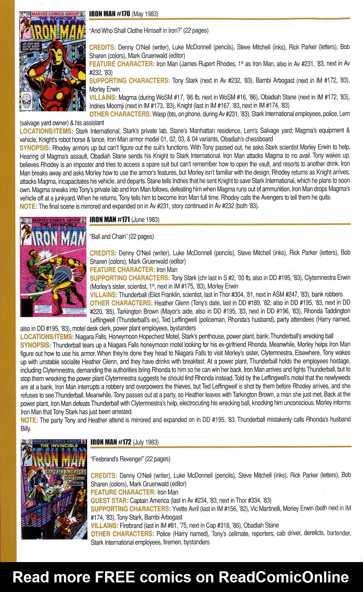 Read online Official Index to the Marvel Universe comic -  Issue #6 - 24