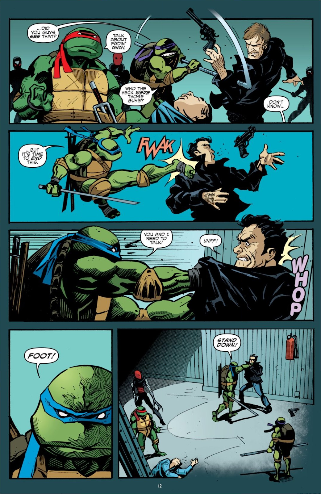Read online Teenage Mutant Ninja Turtles: The IDW Collection comic -  Issue # TPB 7 (Part 1) - 12