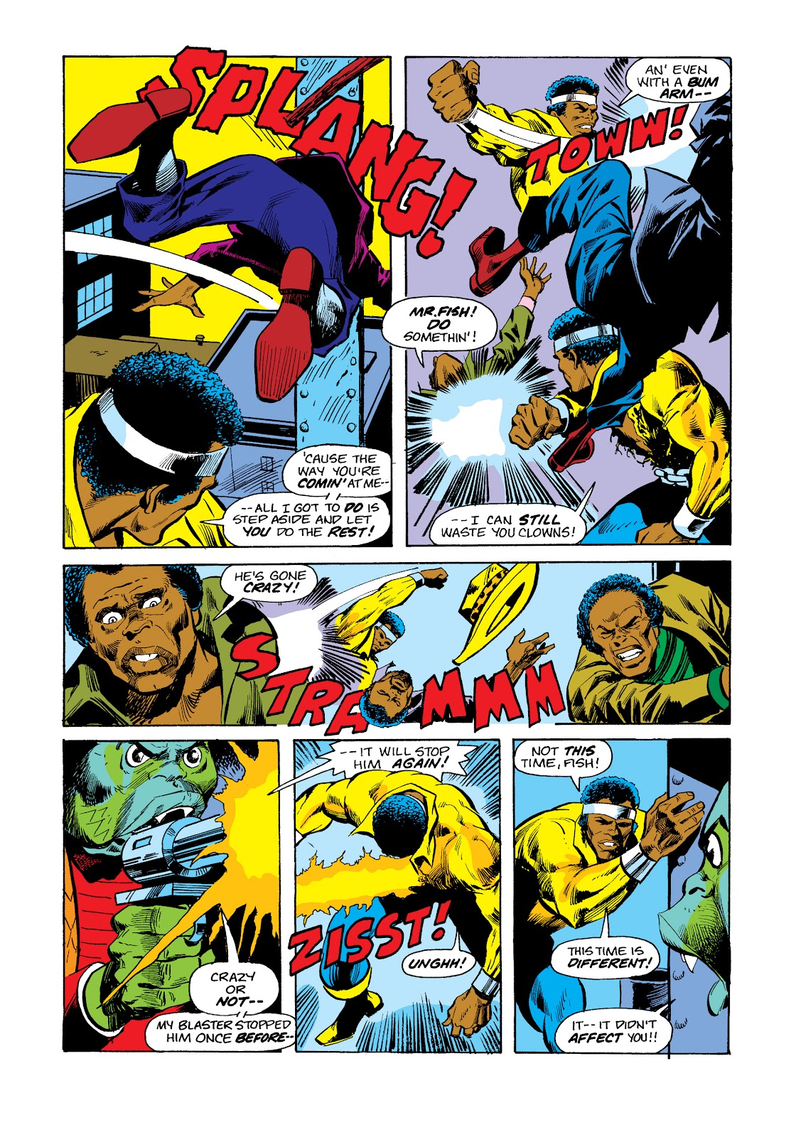 Read online Marvel Masterworks: Luke Cage, Power Man comic -  Issue # TPB 2 (Part 3) - 54