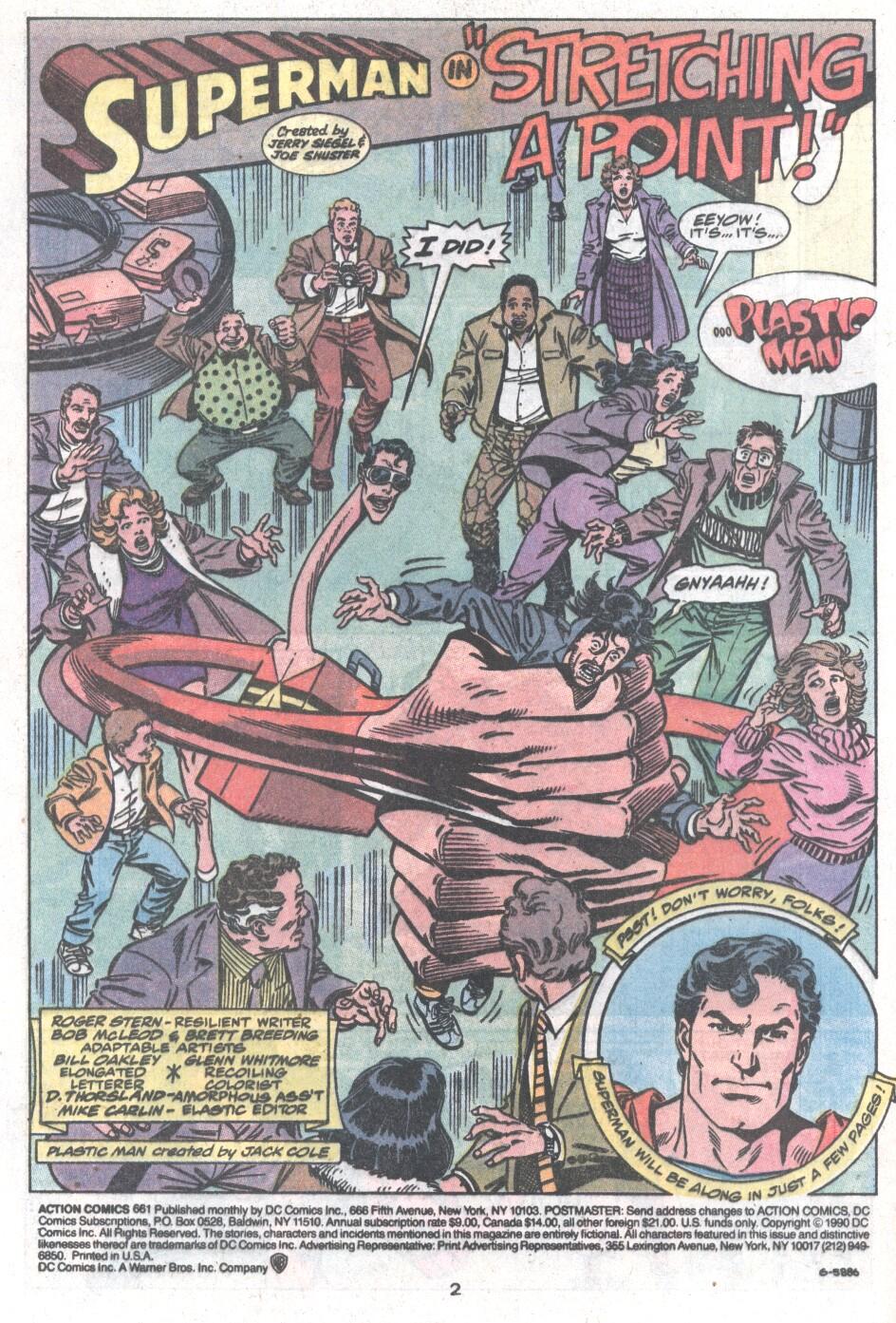 Action Comics (1938) 661 Page 2