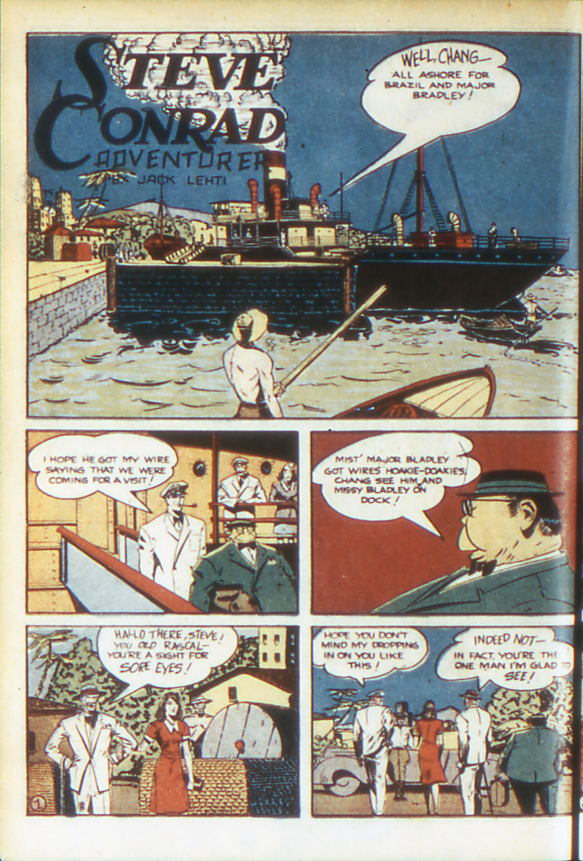 Read online Adventure Comics (1938) comic -  Issue #64 - 25