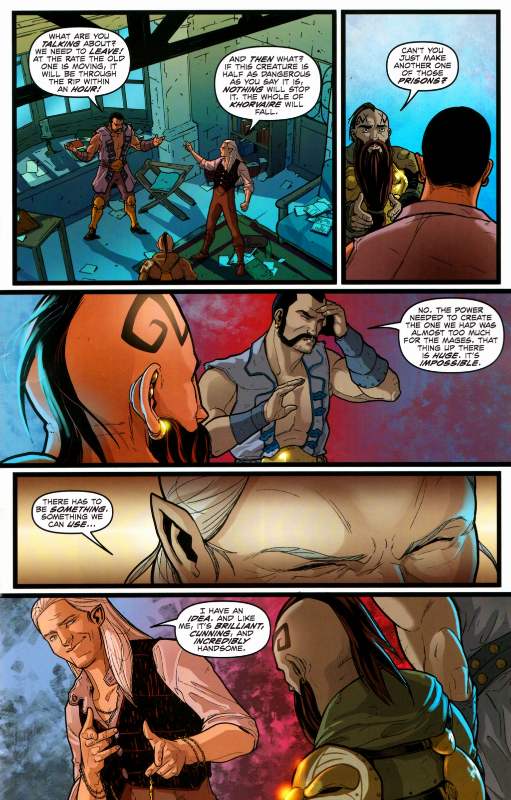 Read online Infestation 2: Dungeons & Dragons comic -  Issue #2 - 13