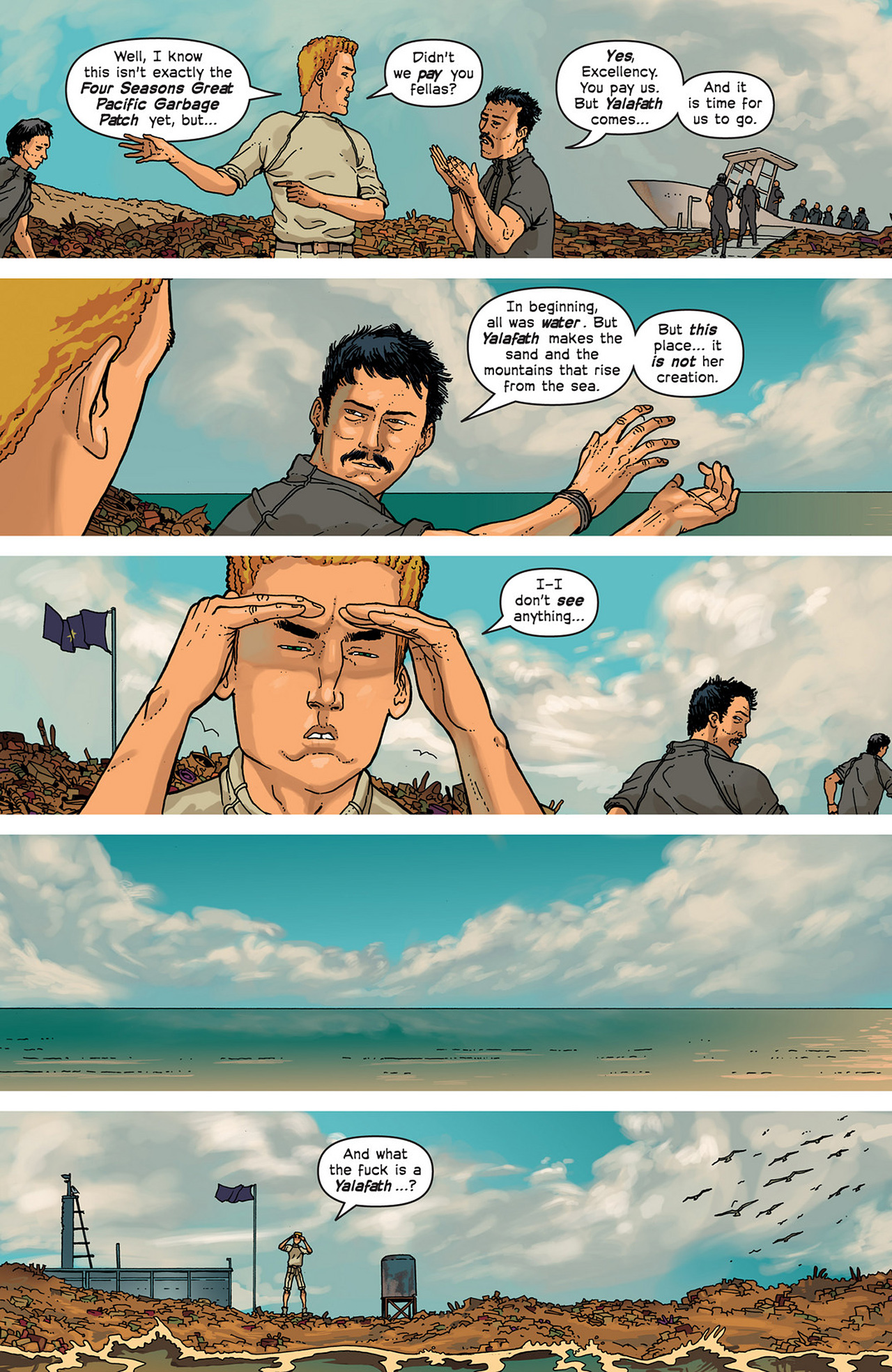 Read online Great Pacific comic -  Issue #2 - 12