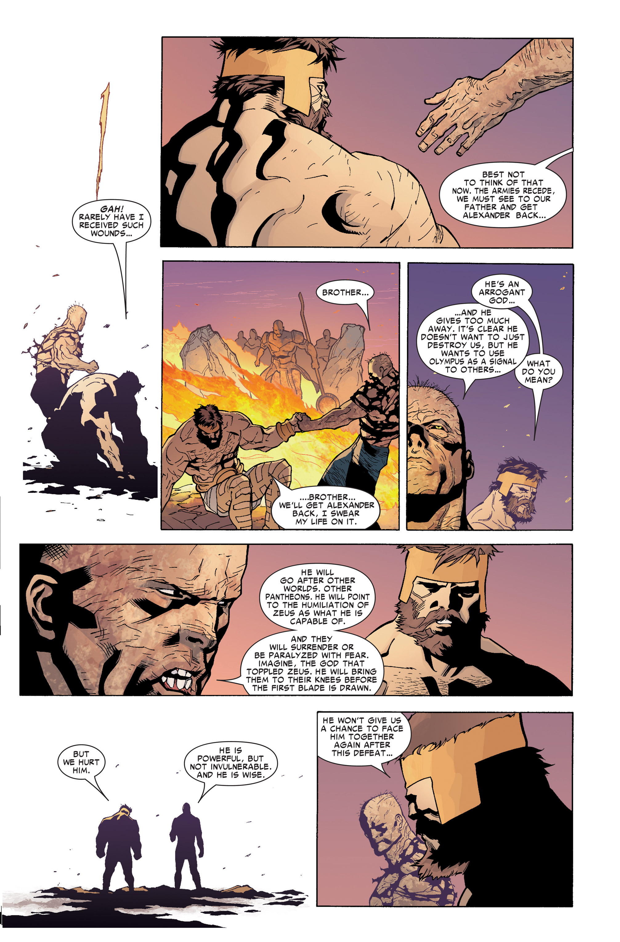 Read online Ares comic -  Issue #4 - 10