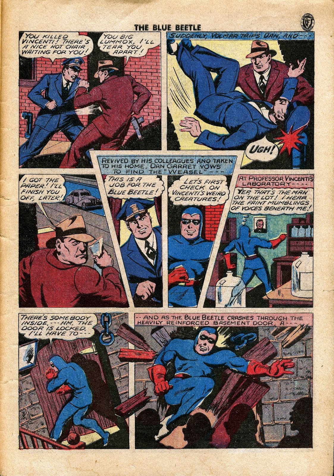 The Blue Beetle issue 34 - Page 38