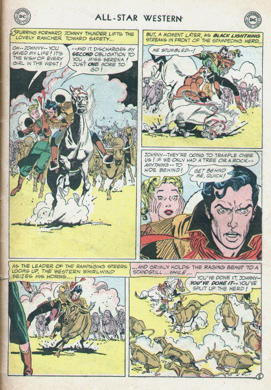 Read online All-Star Western (1951) comic -  Issue #90 - 31