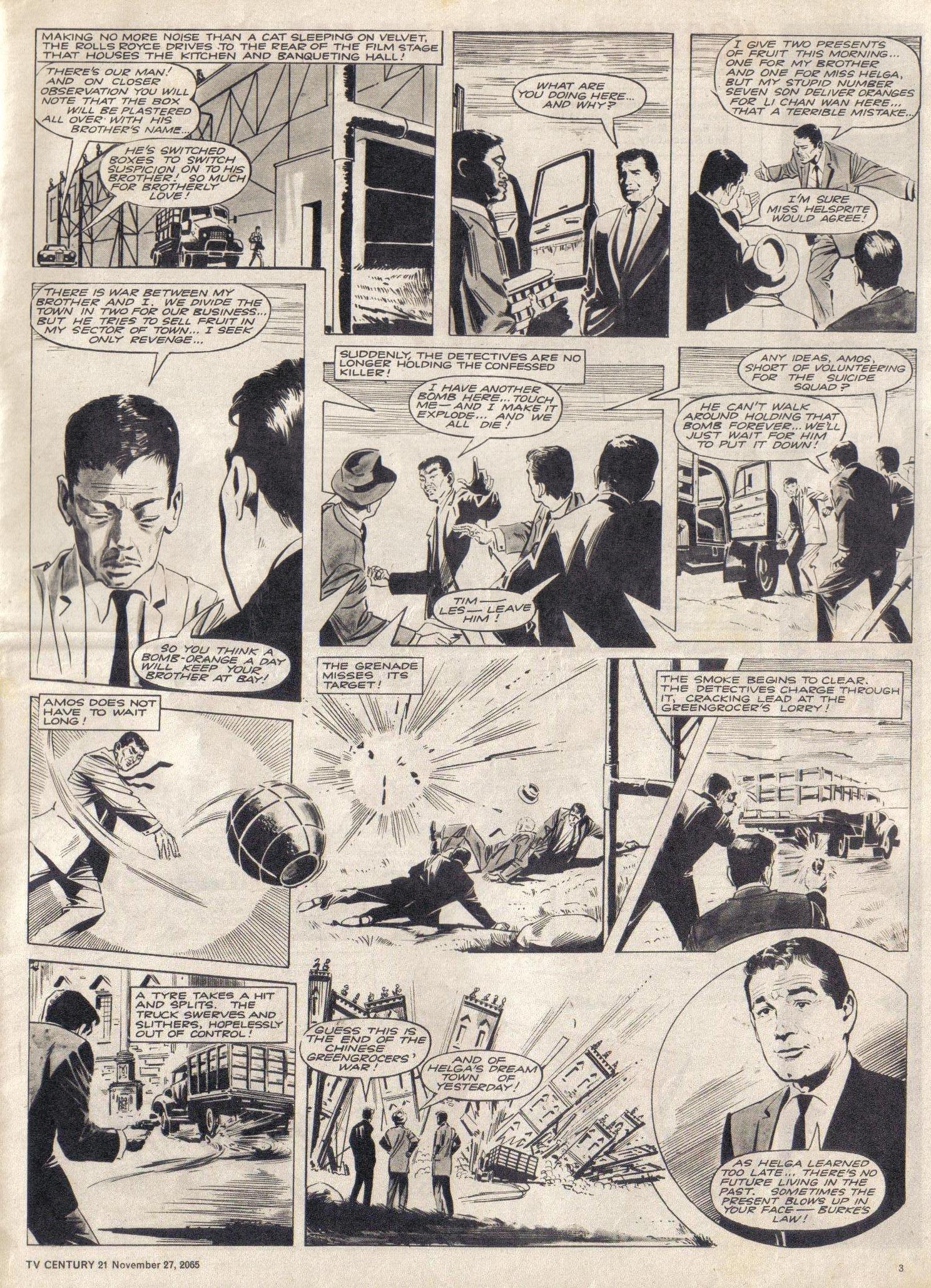 Read online TV Century 21 (TV 21) comic -  Issue #45 - 3