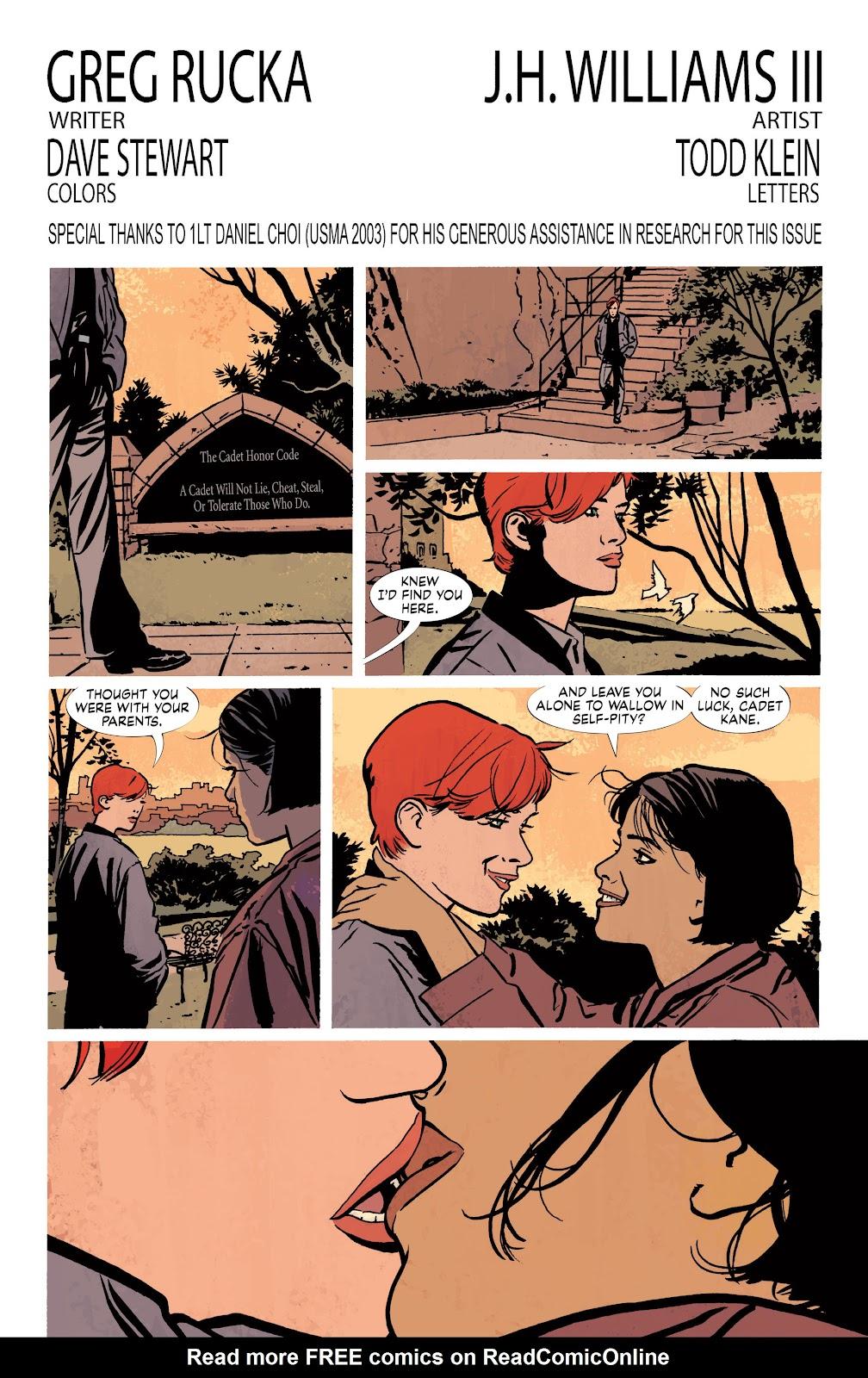Read online Detective Comics (1937) comic -  Issue # _TPB Batwoman – Elegy (New Edition) (Part 2) - 3