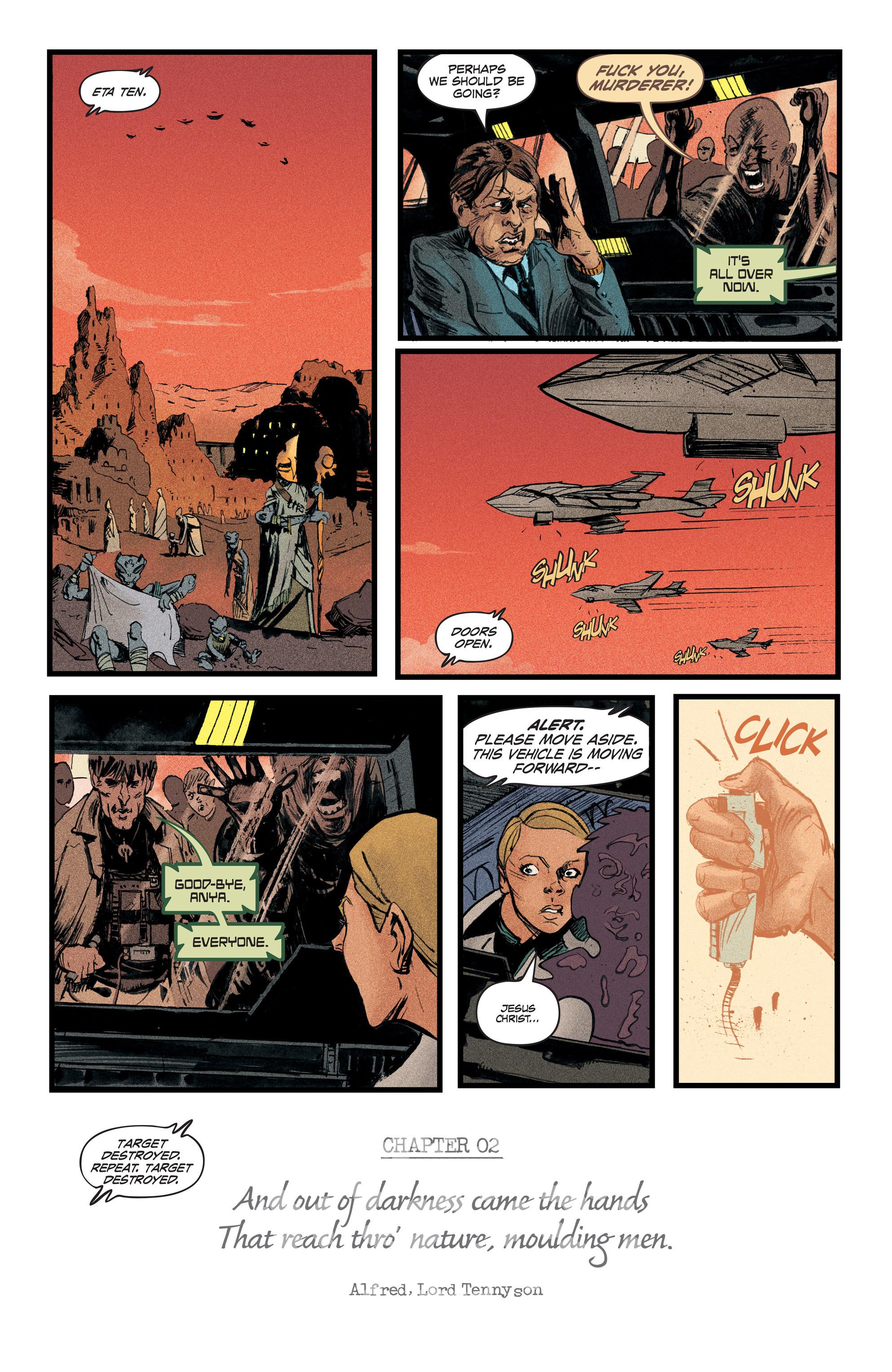 Read online Redline comic -  Issue #2 - 5