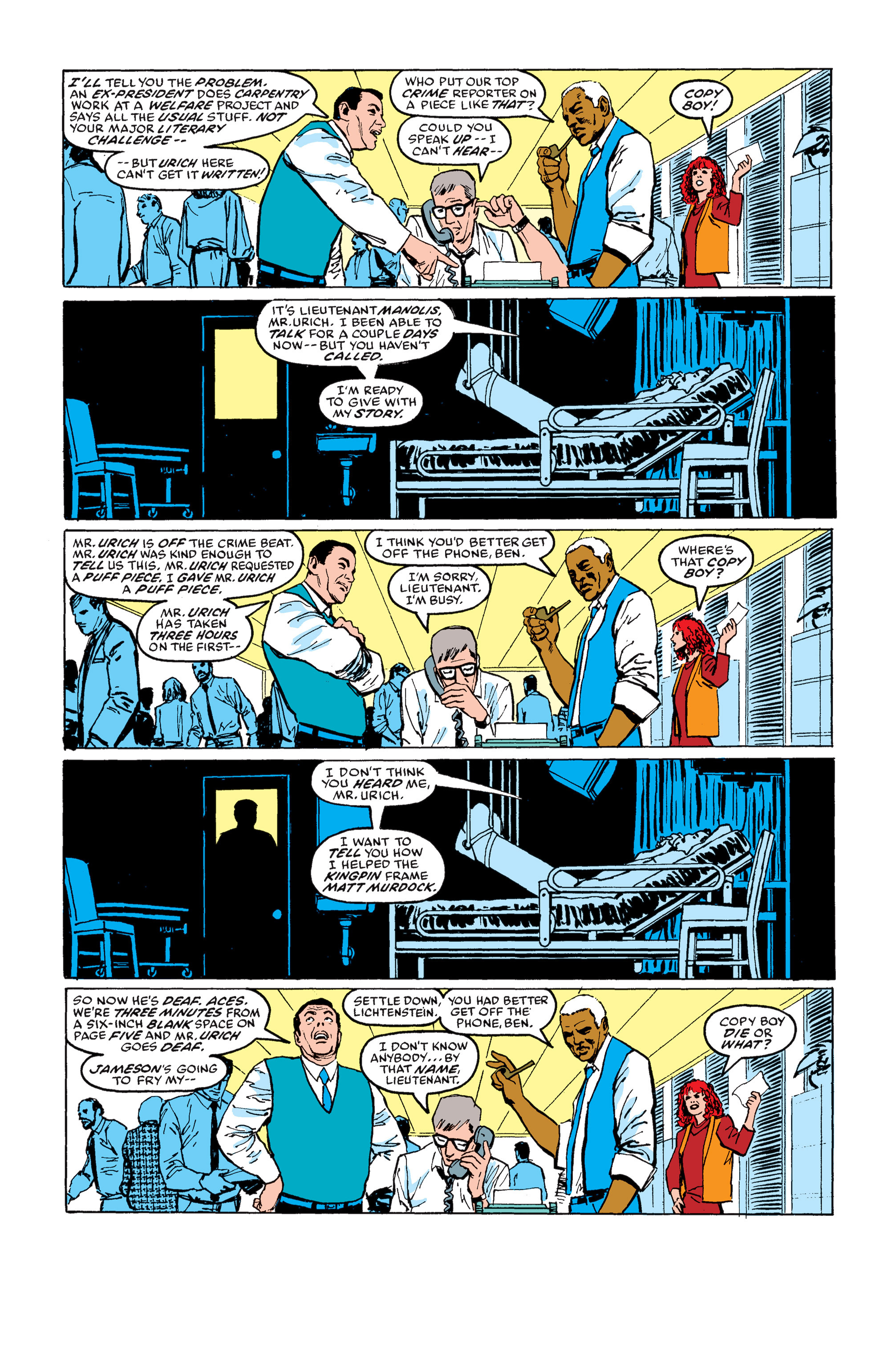Read online Daredevil: Born Again comic -  Issue # Full - 111