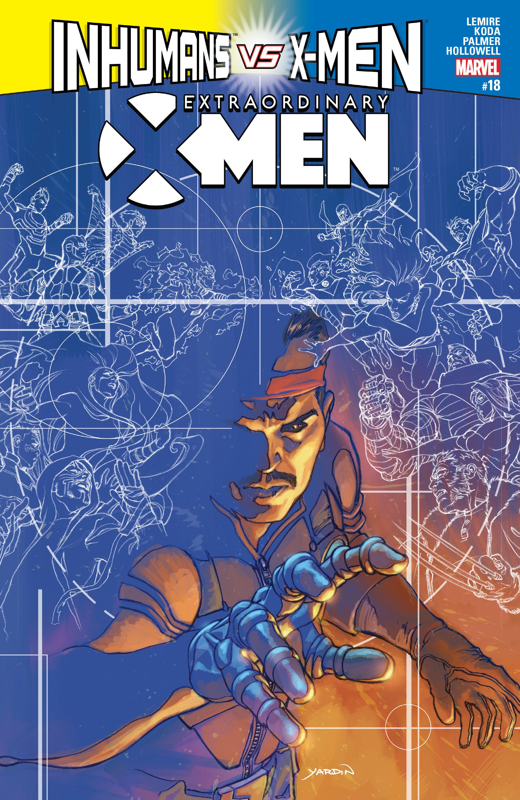 Extraordinary X-Men 18 Page 1