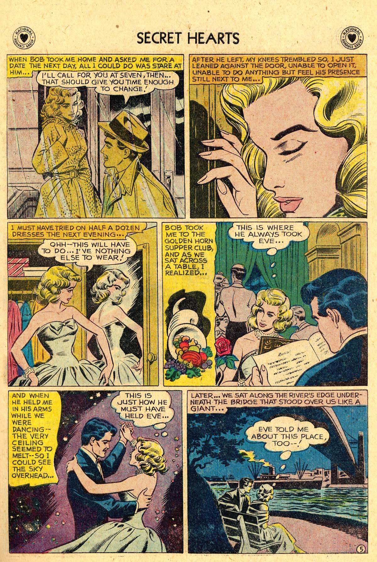 Read online Secret Hearts comic -  Issue #57 - 31
