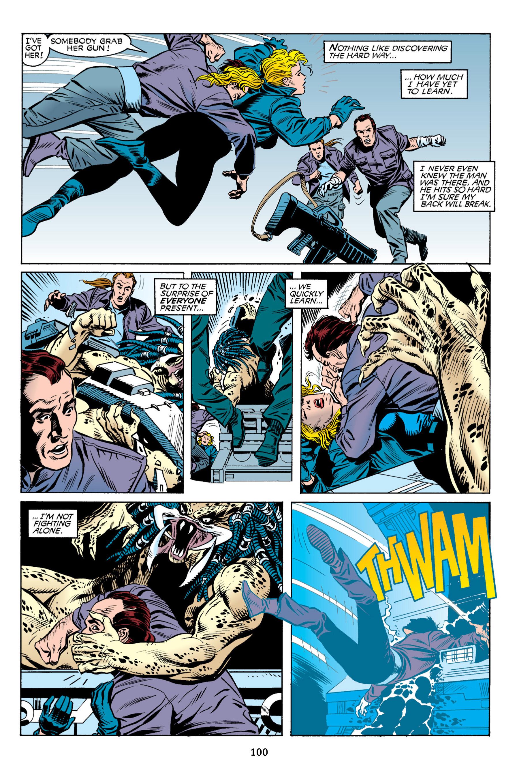 Read online Aliens vs. Predator Omnibus comic -  Issue # _TPB 2 Part 1 - 99