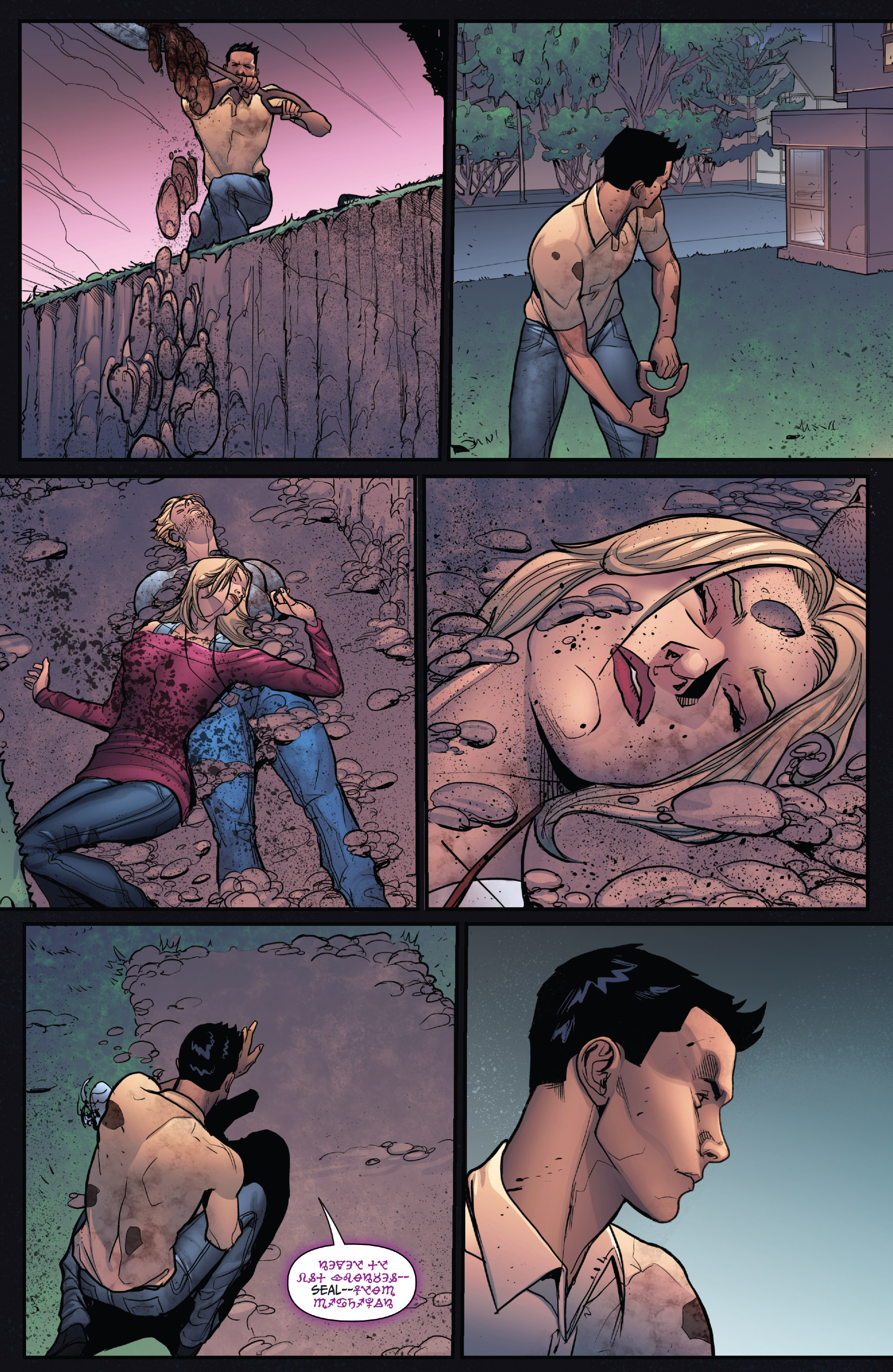 Read online Grimm Fairy Tales: Arcane Acre comic -  Issue # TPB 4 - 140