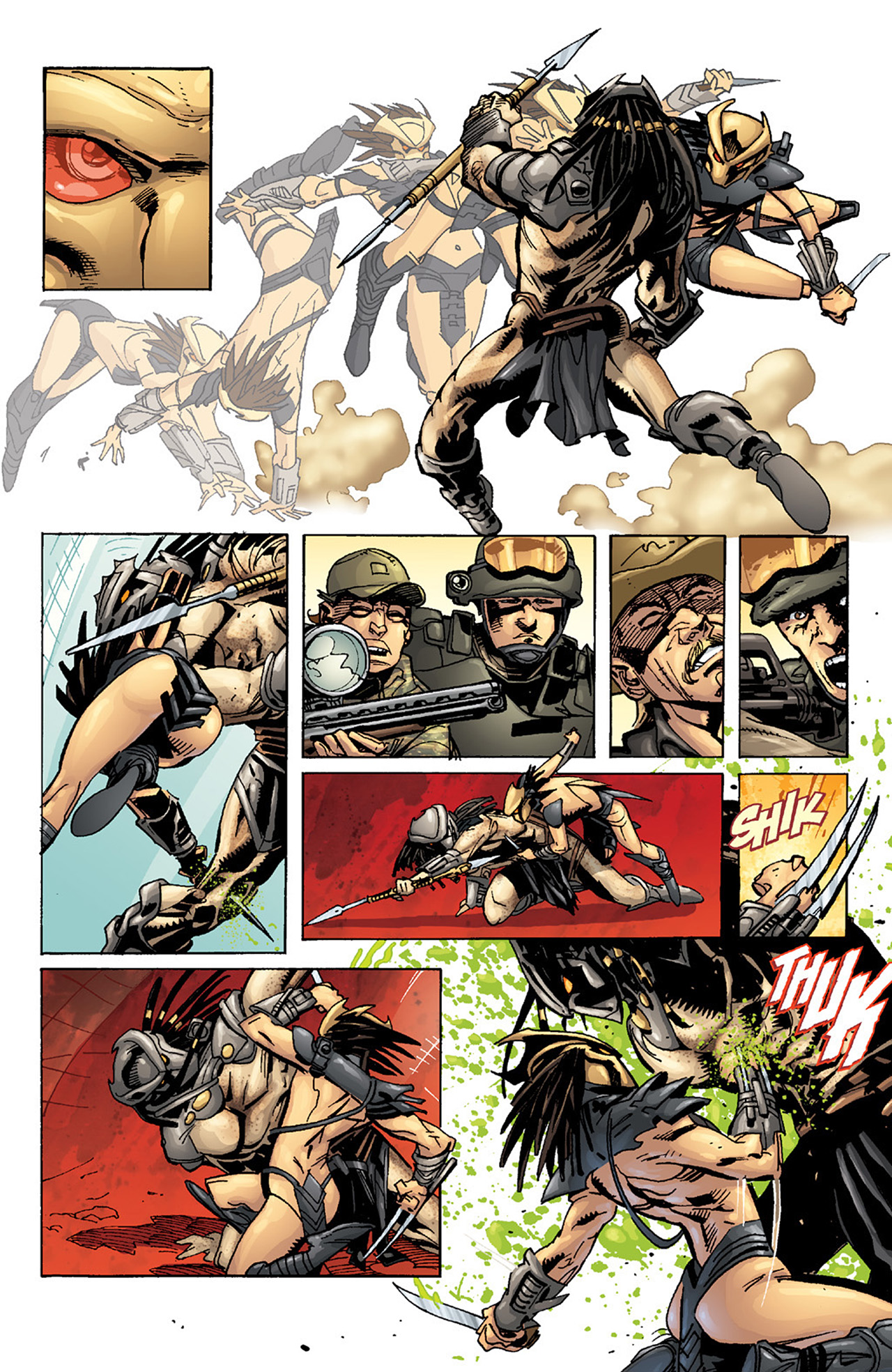 Read online Aliens vs. Predator: Three World War comic -  Issue #2 - 23