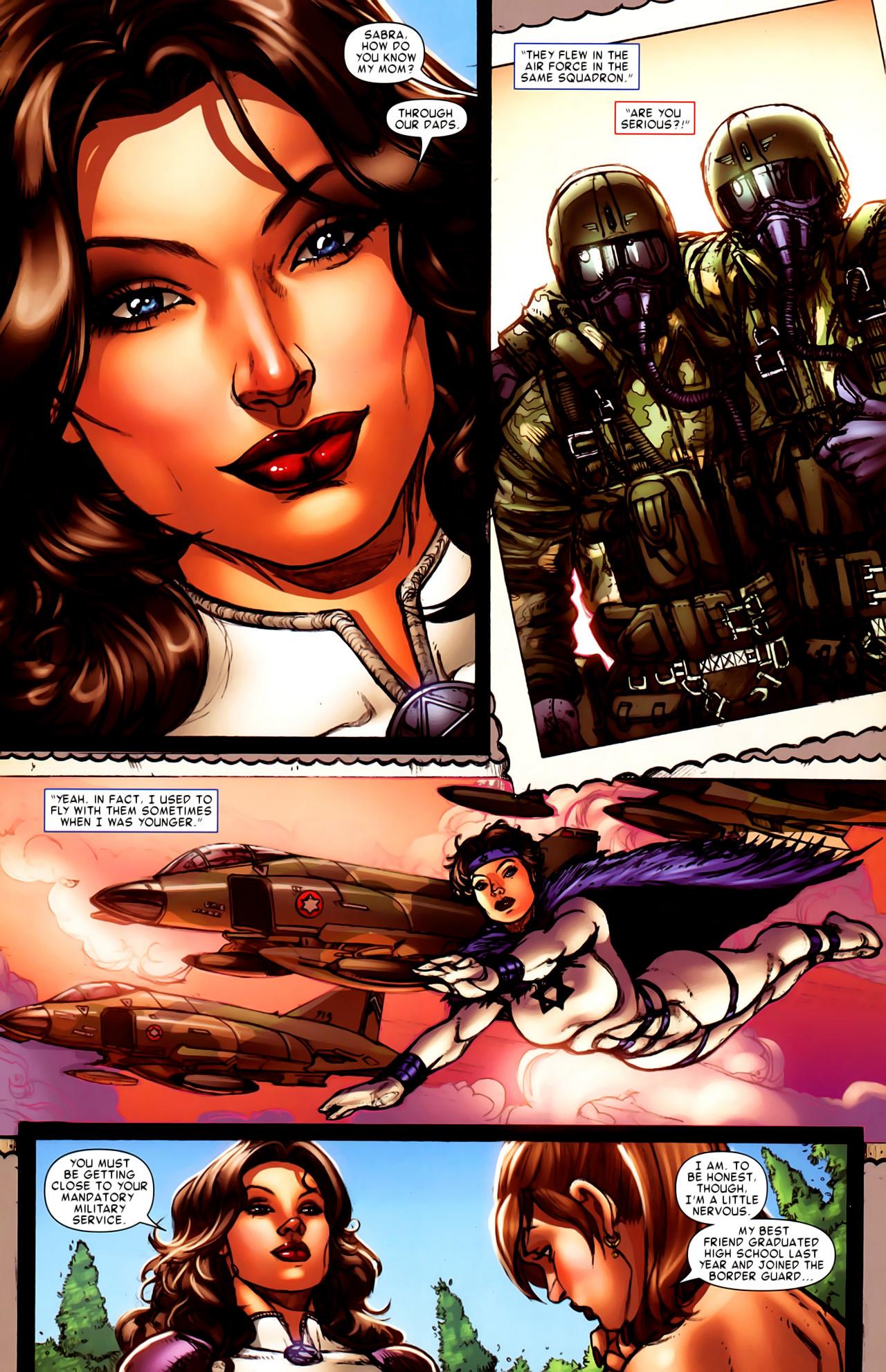 Read online Astonishing Tales (2009) comic -  Issue #6 - 21