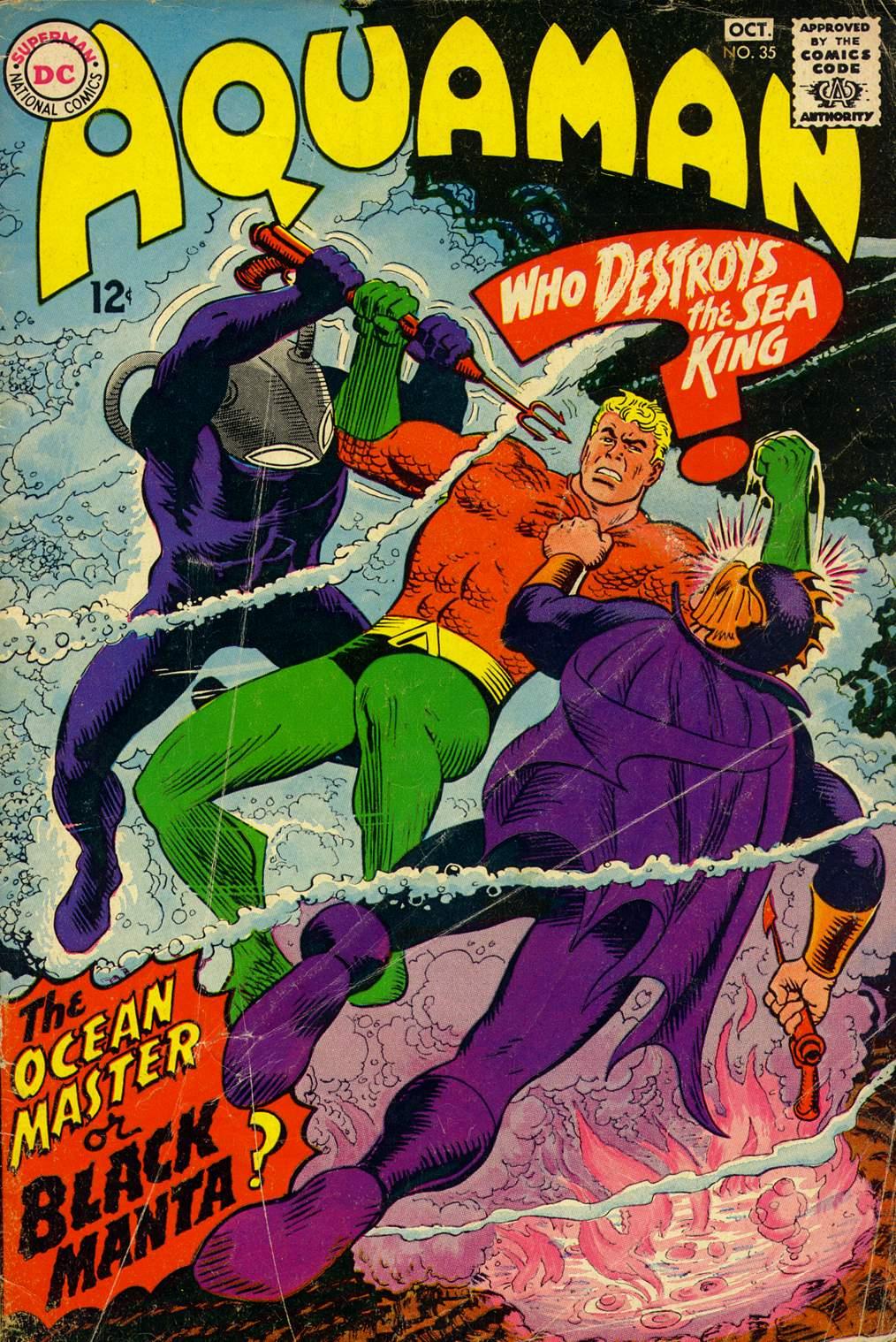 Read online Aquaman (1962) comic -  Issue #35 - 1
