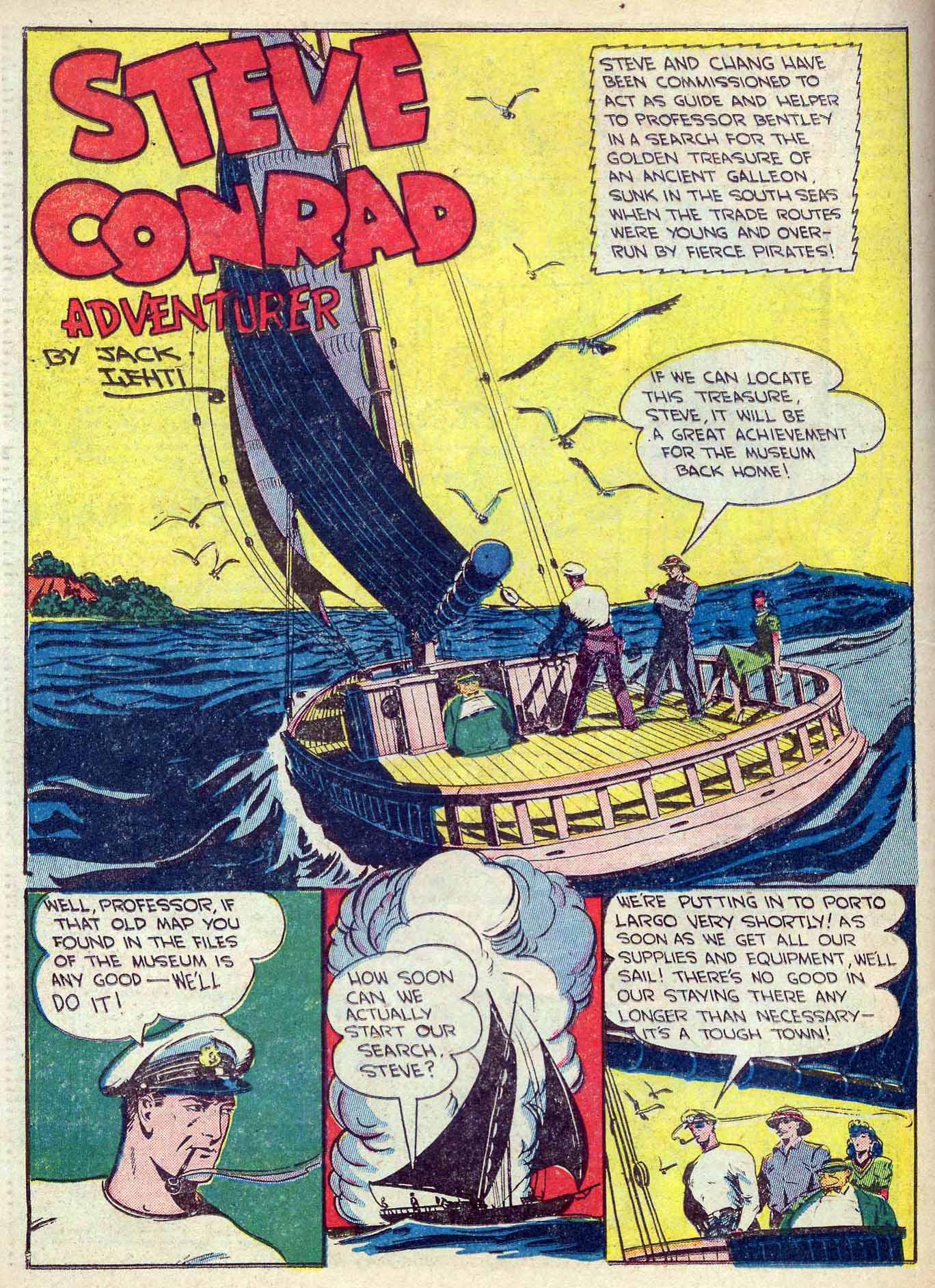 Read online Adventure Comics (1938) comic -  Issue #70 - 40