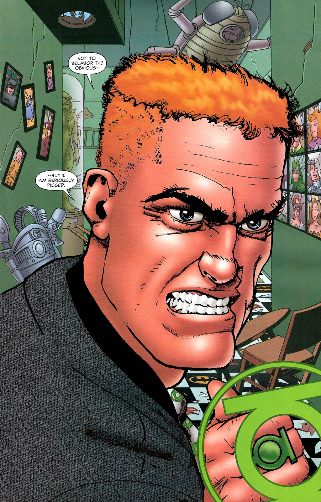 Read online Guy Gardner: Collateral Damage comic -  Issue #2 - 3
