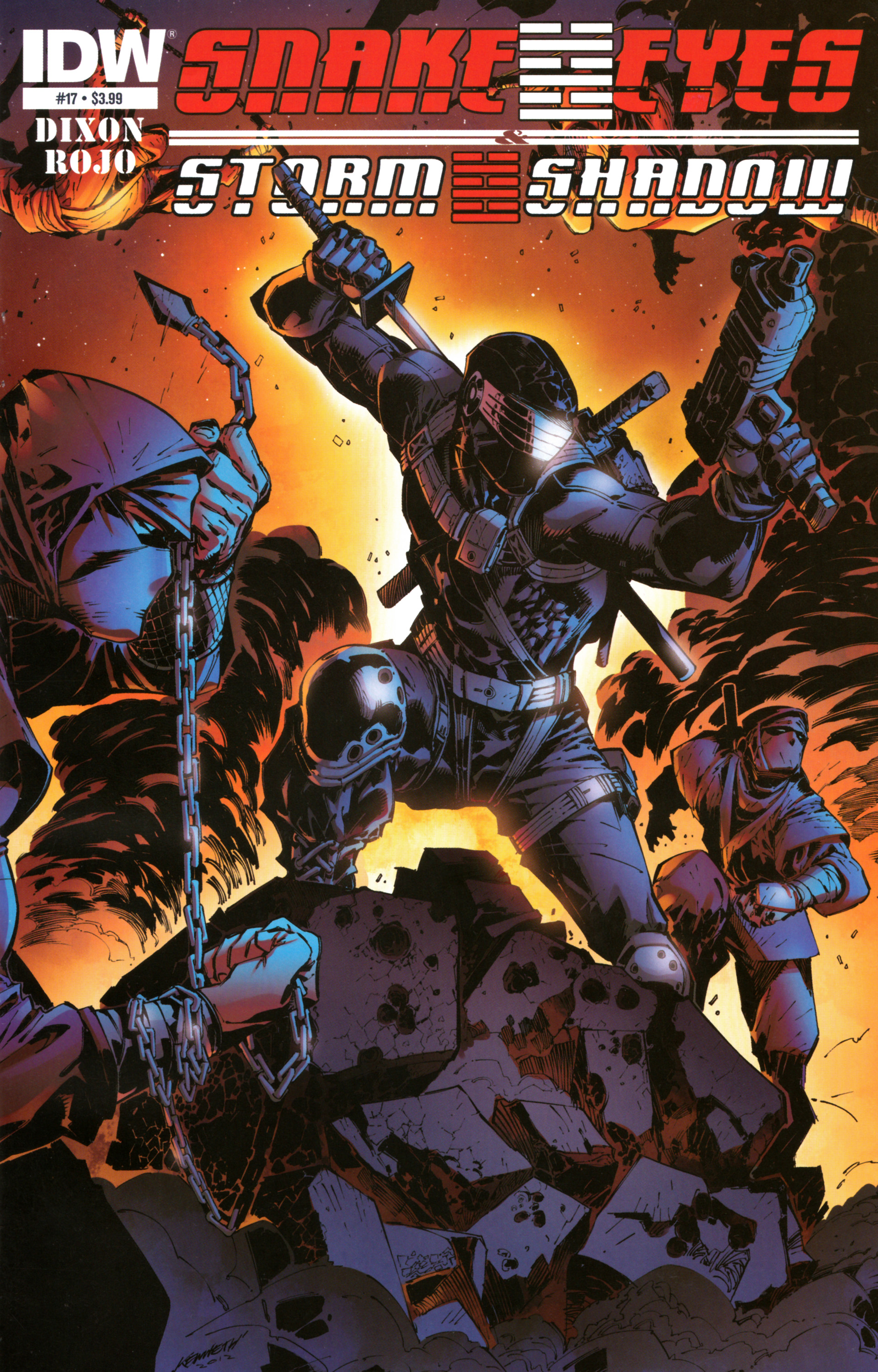 Read online Snake Eyes and Storm Shadow comic -  Issue #17 - 1