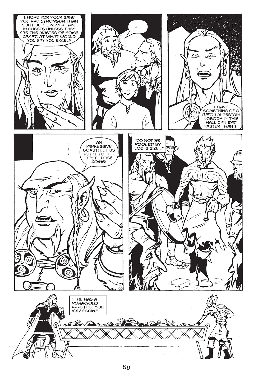Read online Gods of Asgard comic -  Issue # TPB (Part 1) - 90