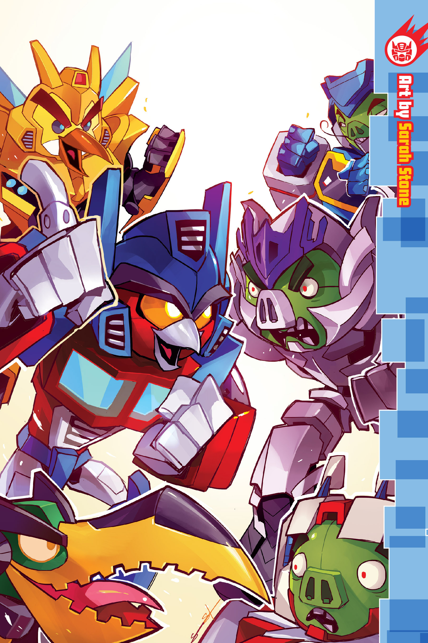 Read online Angry Birds Transformers: Age of Eggstinction comic -  Issue # Full - 69