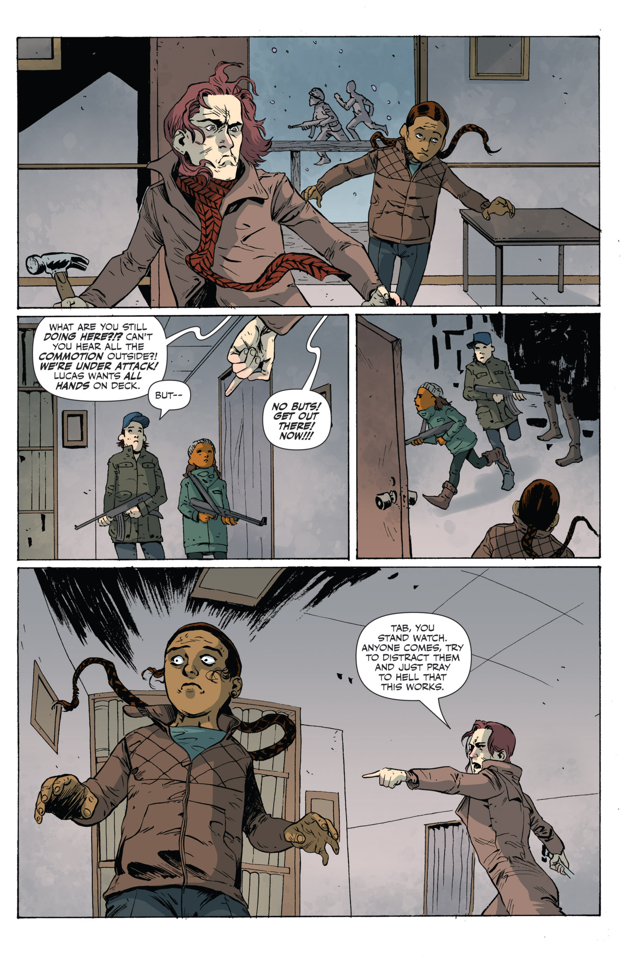 Read online Sheltered comic -  Issue #5 - 17