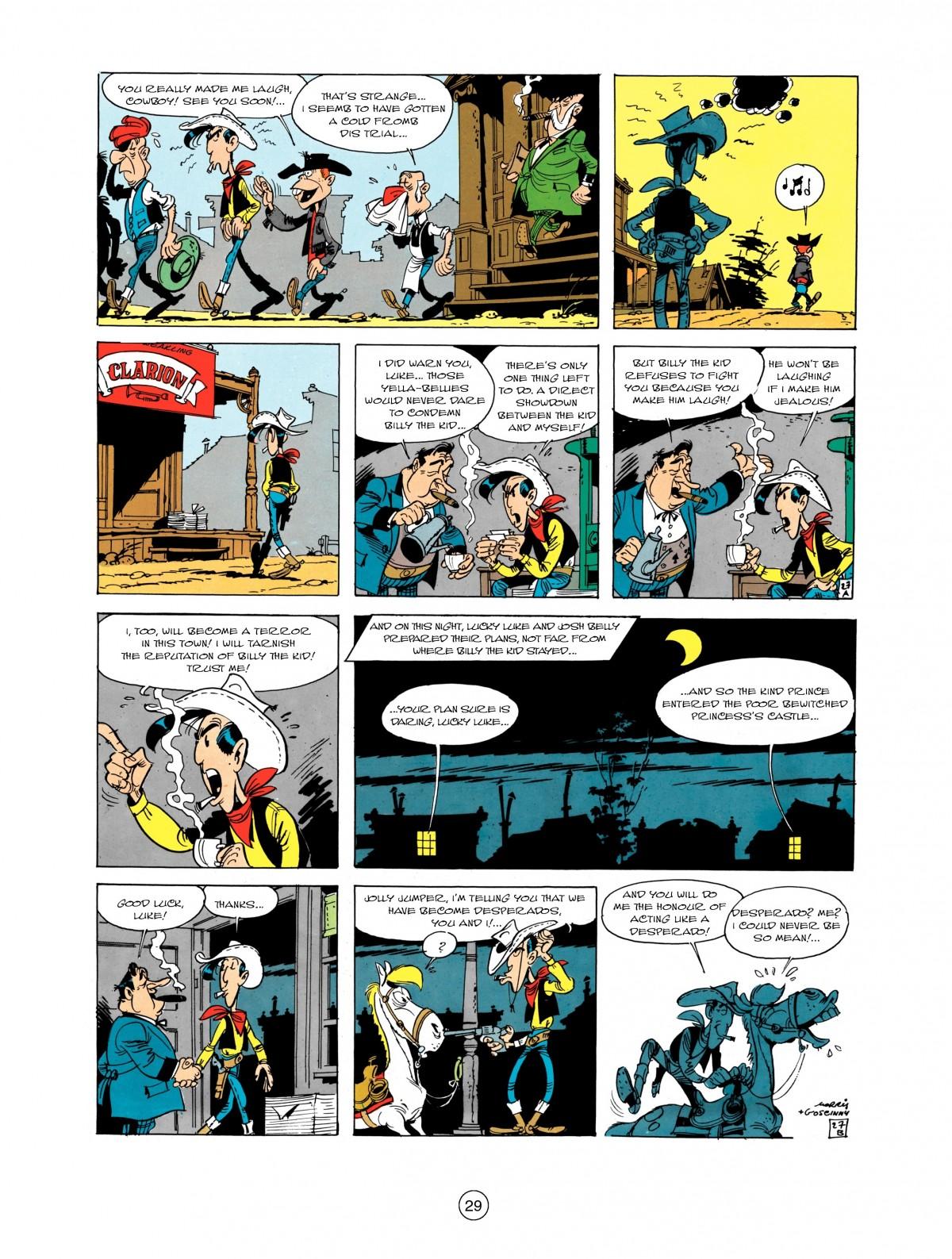 Read online A Lucky Luke Adventure comic -  Issue #1 - 31