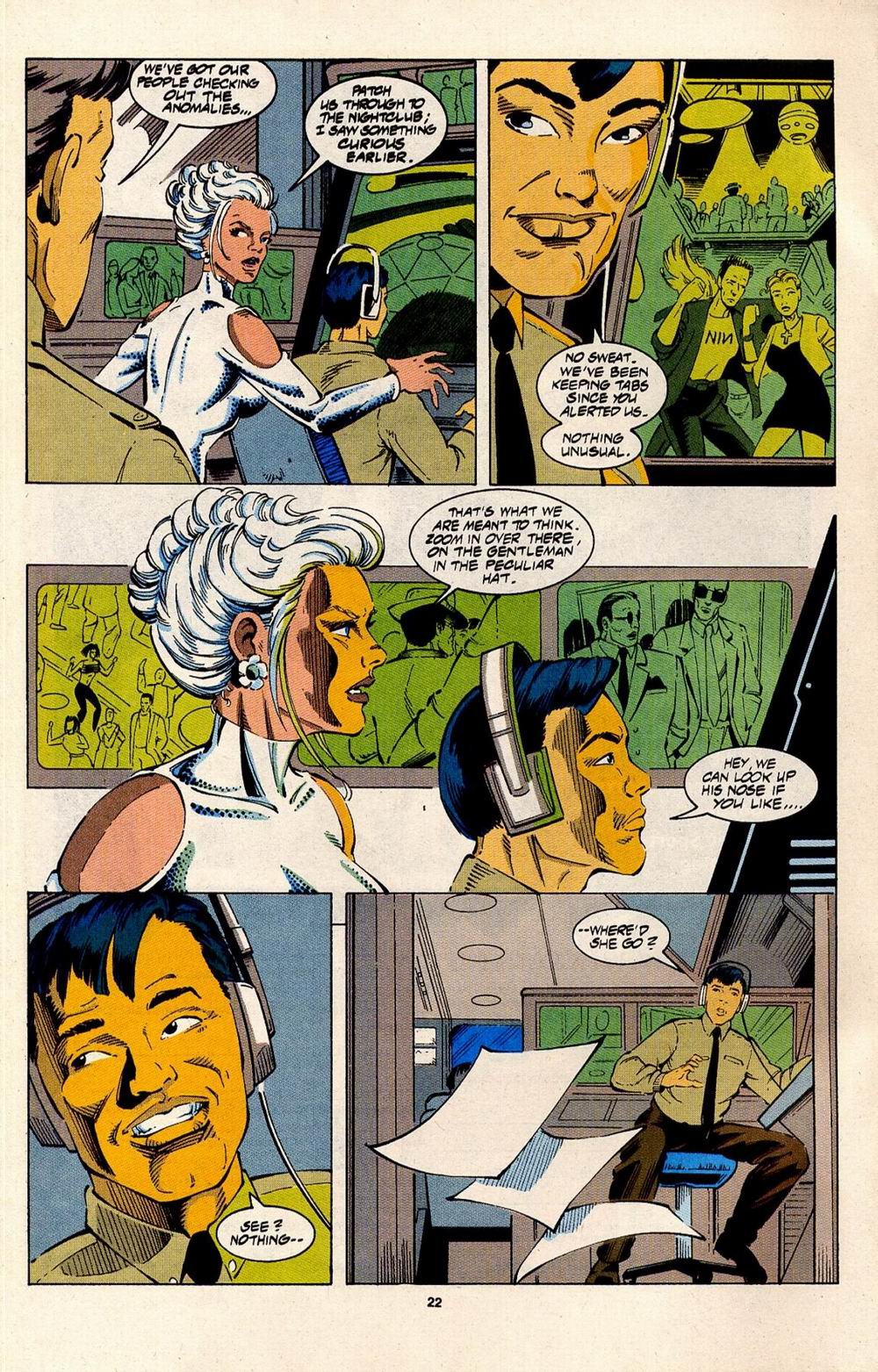 Read online Silver Sable and the Wild Pack comic -  Issue #31 - 18