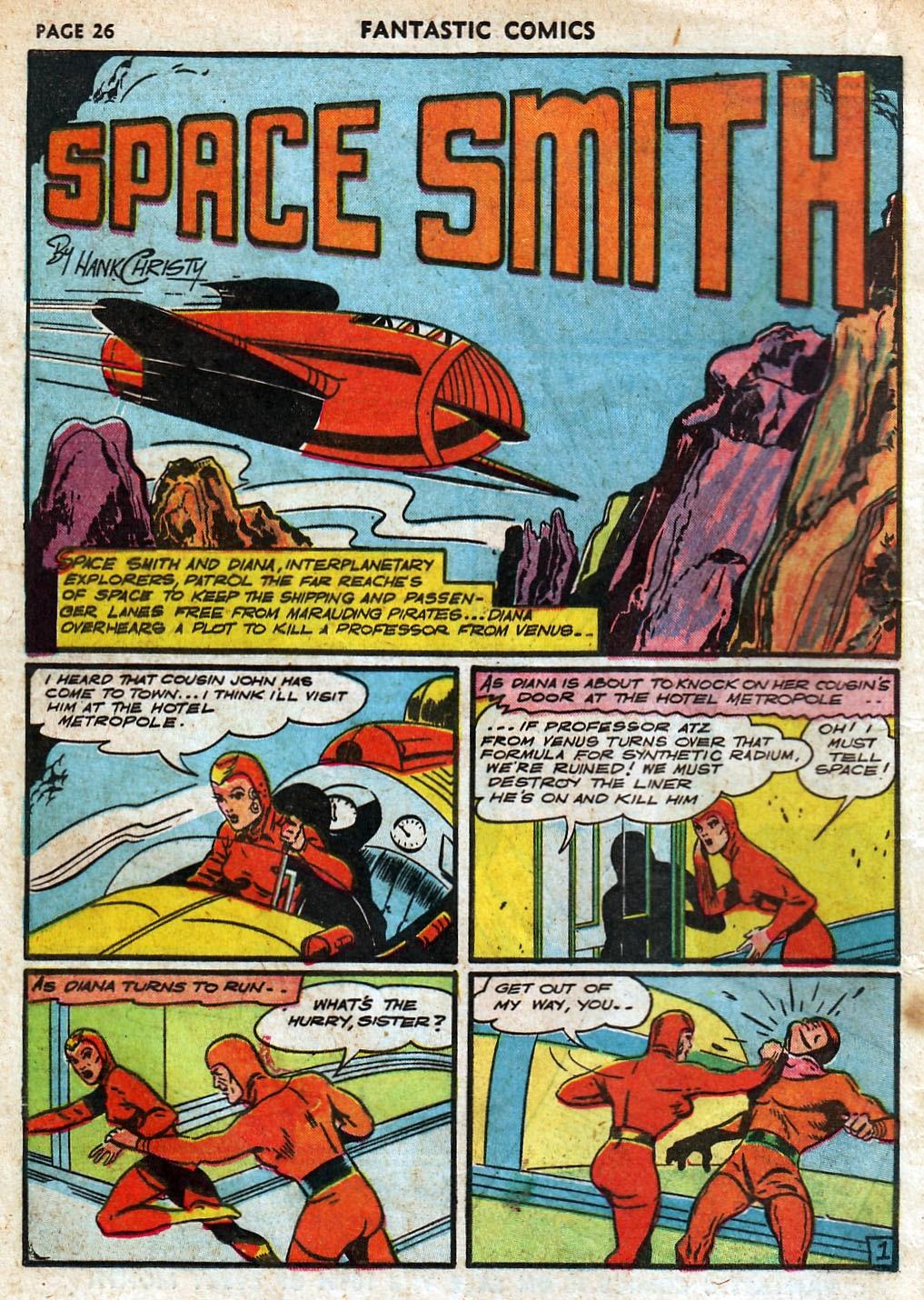 Read online Fantastic Comics comic -  Issue #18 - 28