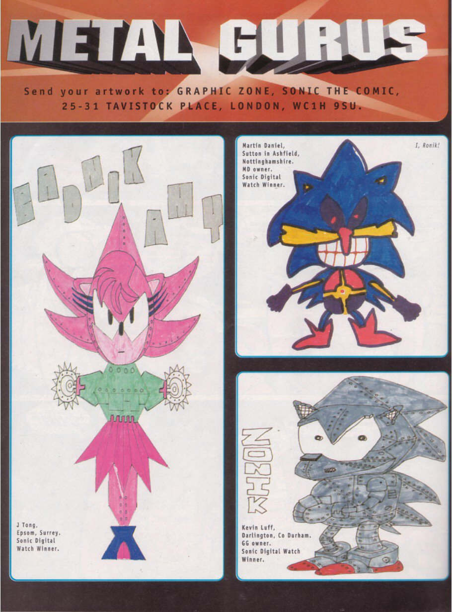 Read online Sonic the Comic comic -  Issue #114 - 21