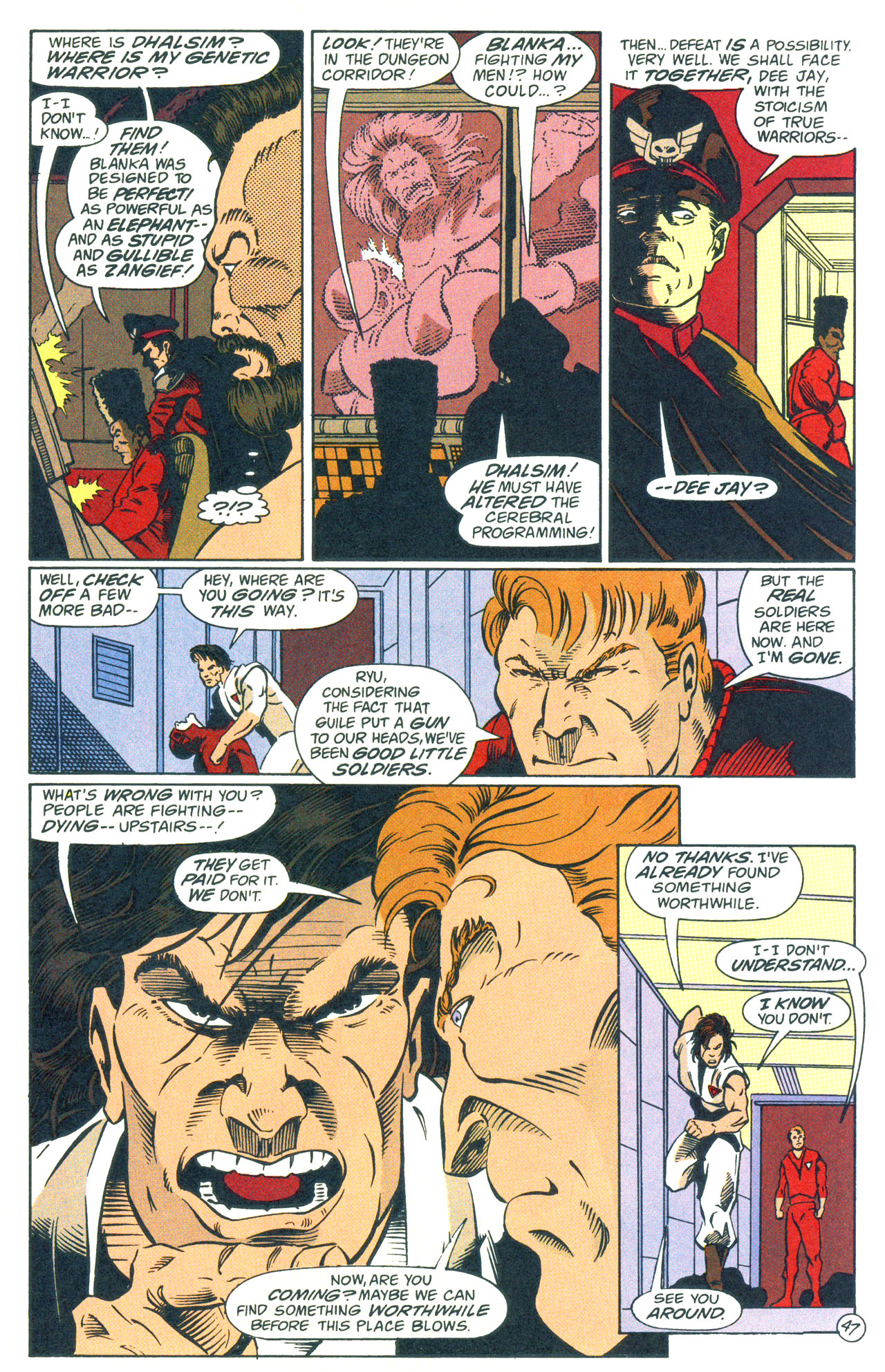 Read online Street Fighter: The Battle For Shadaloo comic -  Issue # Full - 48