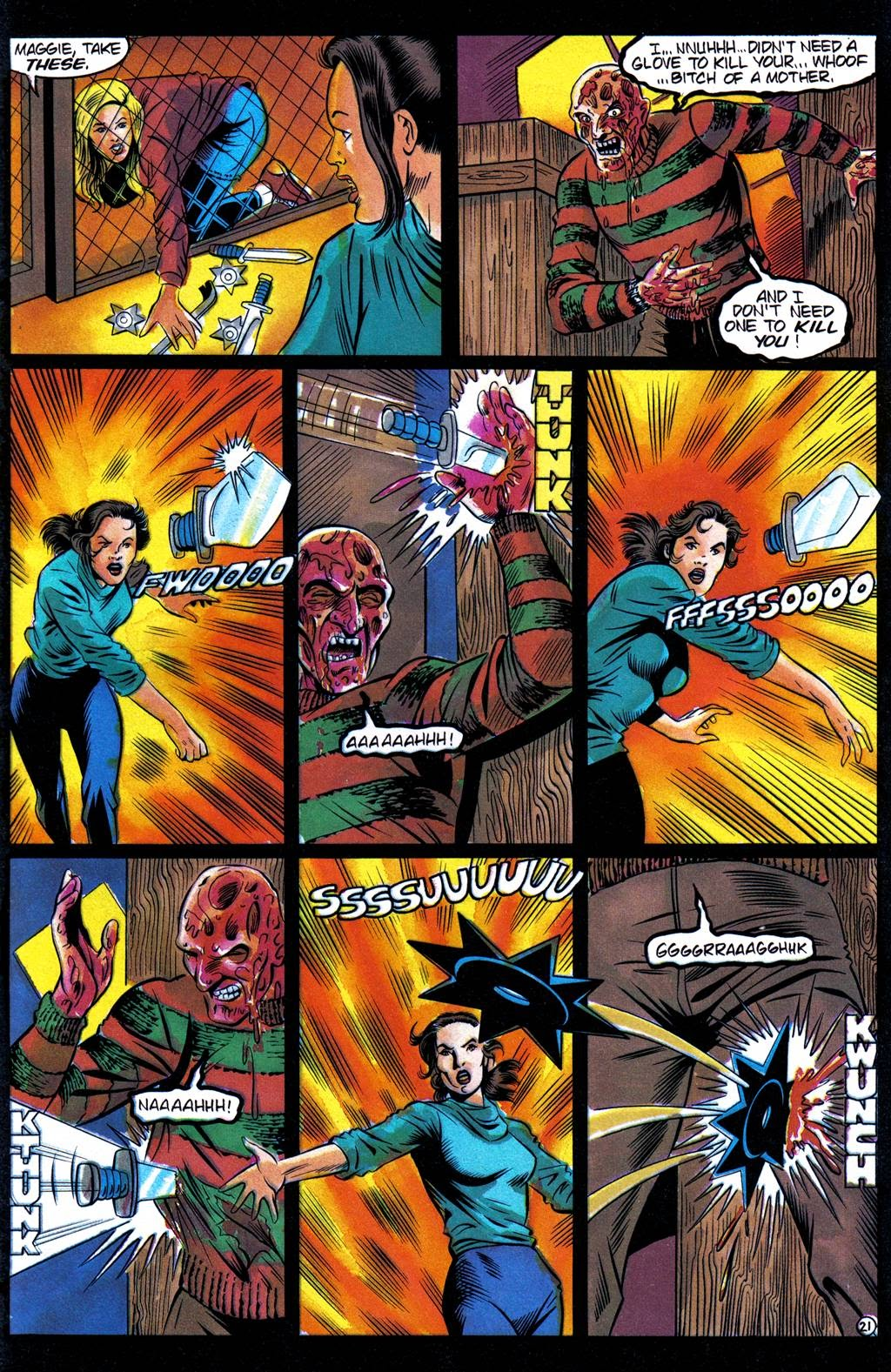 Read online Freddy's Dead: The Final Nightmare comic -  Issue #3 - 24