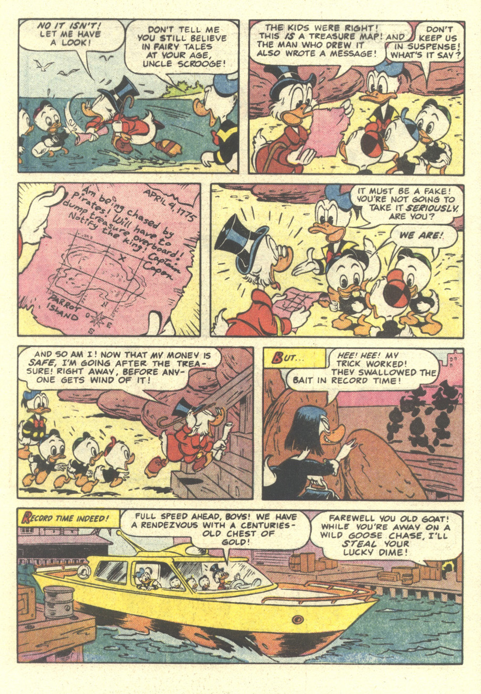 Read online Uncle Scrooge (1953) comic -  Issue #212 - 5