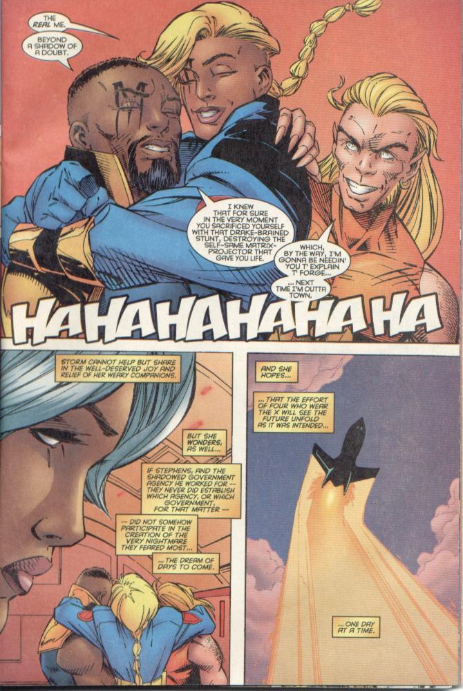 Read online Uncanny X-Men (1963) comic -  Issue # _Annual 1996 - 44