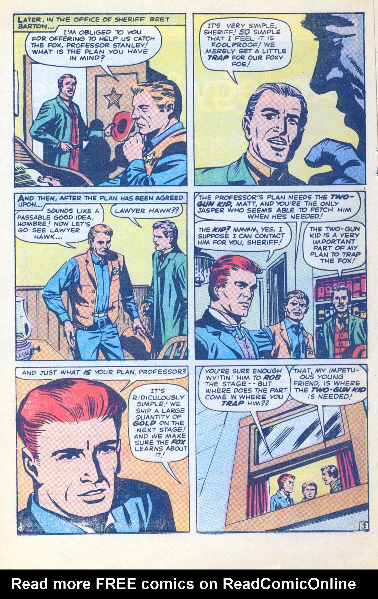 Read online Two-Gun Kid comic -  Issue #116 - 16