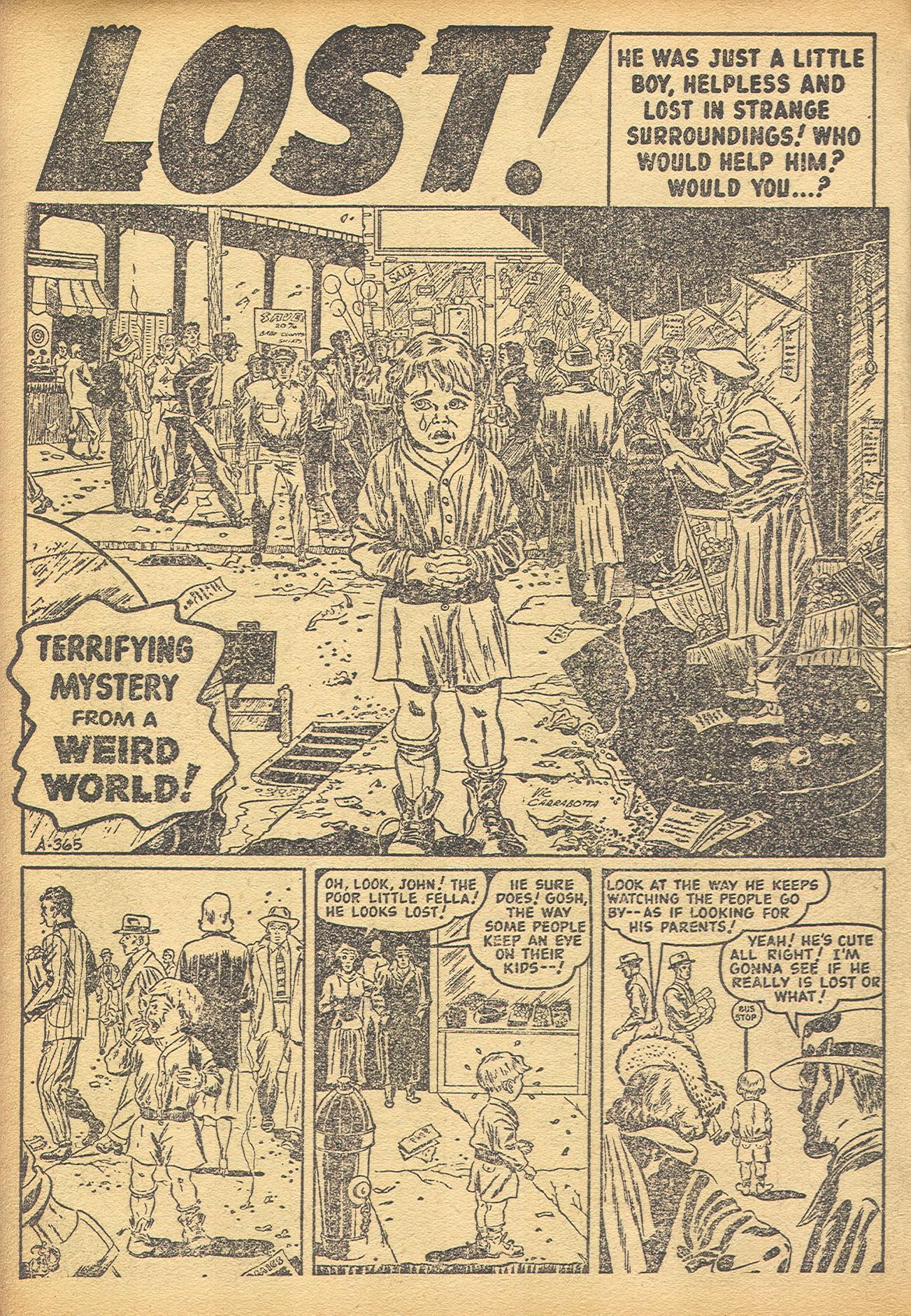 Read online Adventures into Weird Worlds comic -  Issue #8 - 12