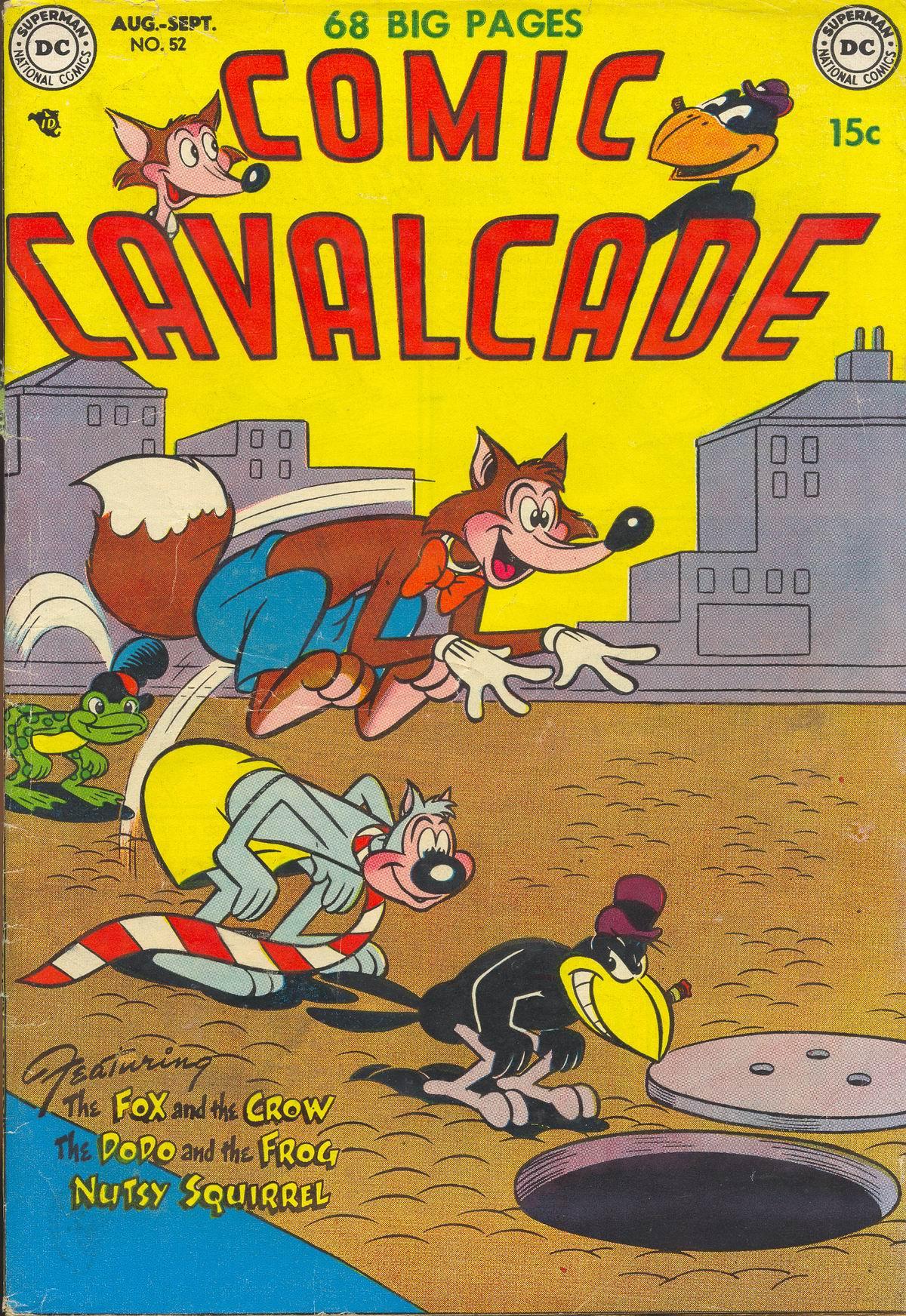 Comic Cavalcade 52 Page 1