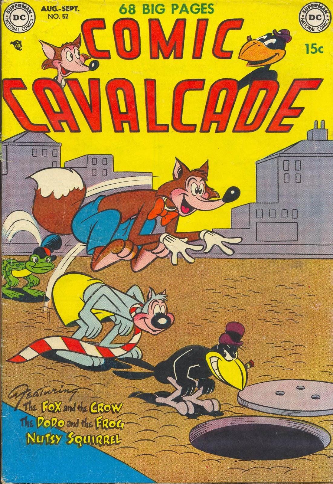 Comic Cavalcade issue 52 - Page 1