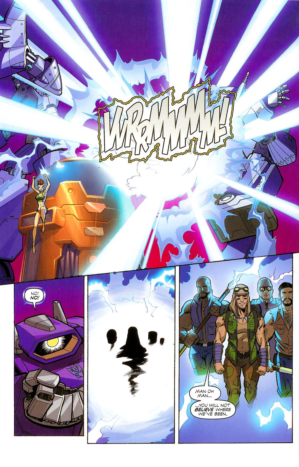 G.I. Joe vs. The Transformers II Issue #4 #5 - English 12
