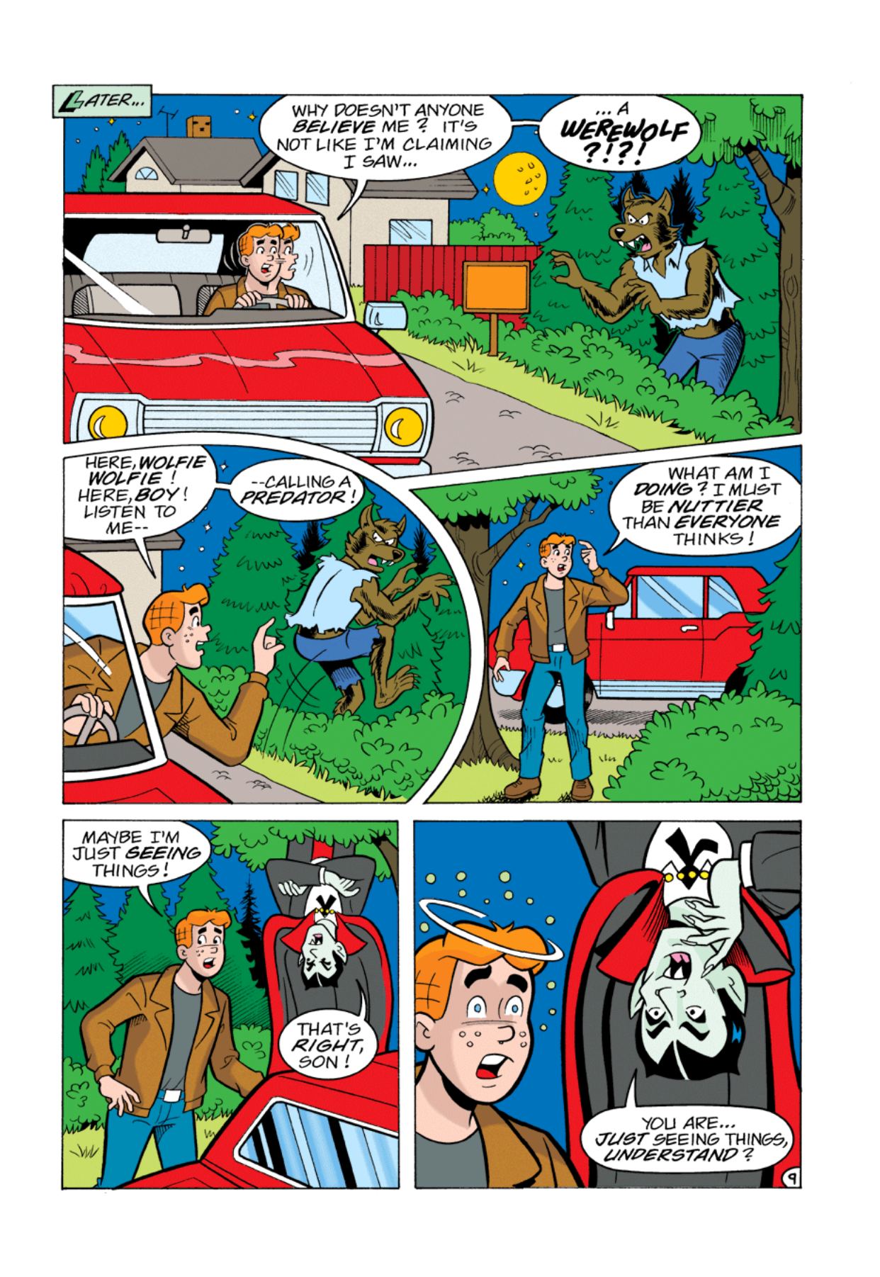 Read online Archie's Weird Mysteries comic -  Issue #1 - 10