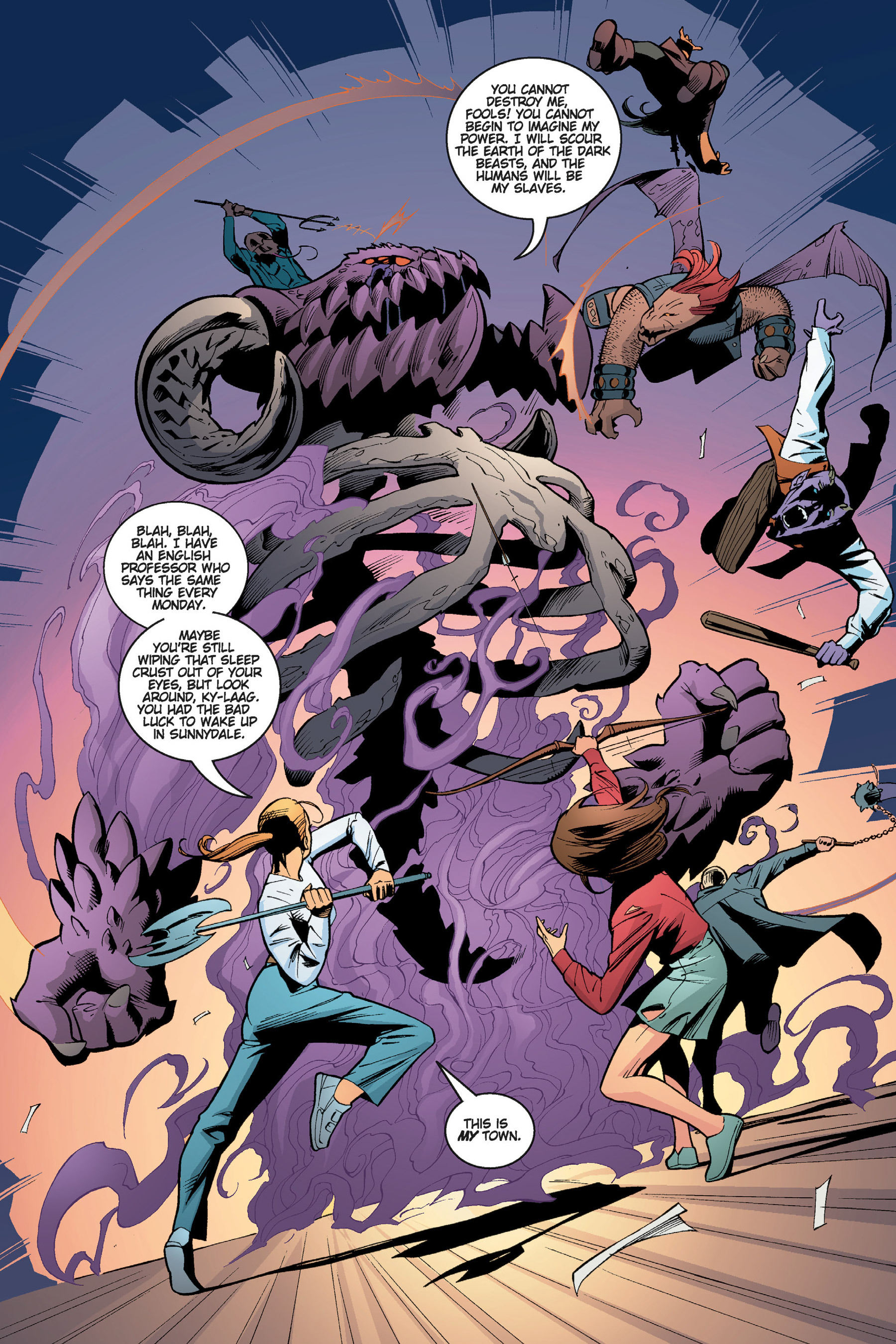 Read online Buffy the Vampire Slayer: Omnibus comic -  Issue # TPB 5 - 222