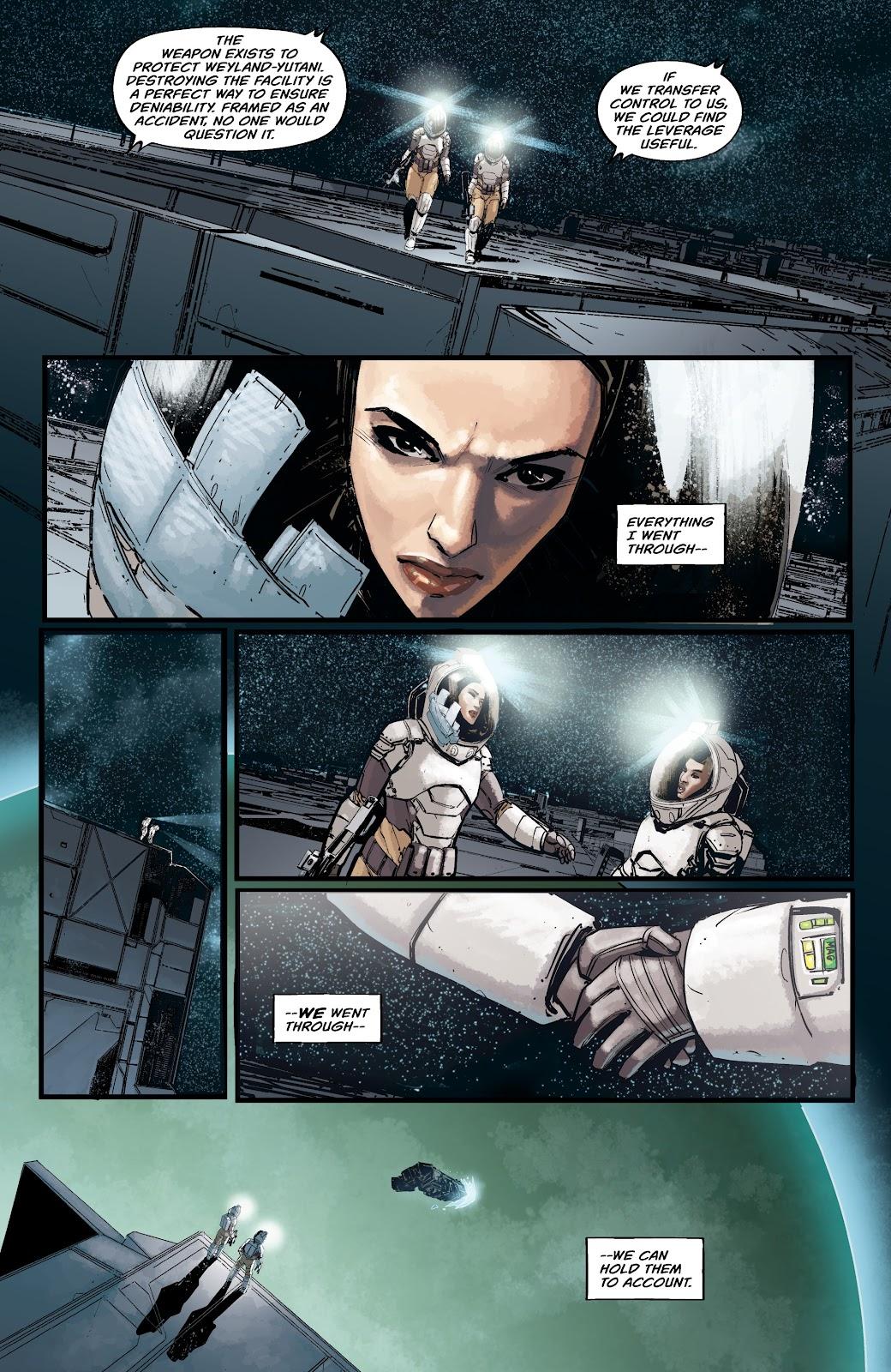 Read online Aliens: Resistance comic -  Issue #2 - 16