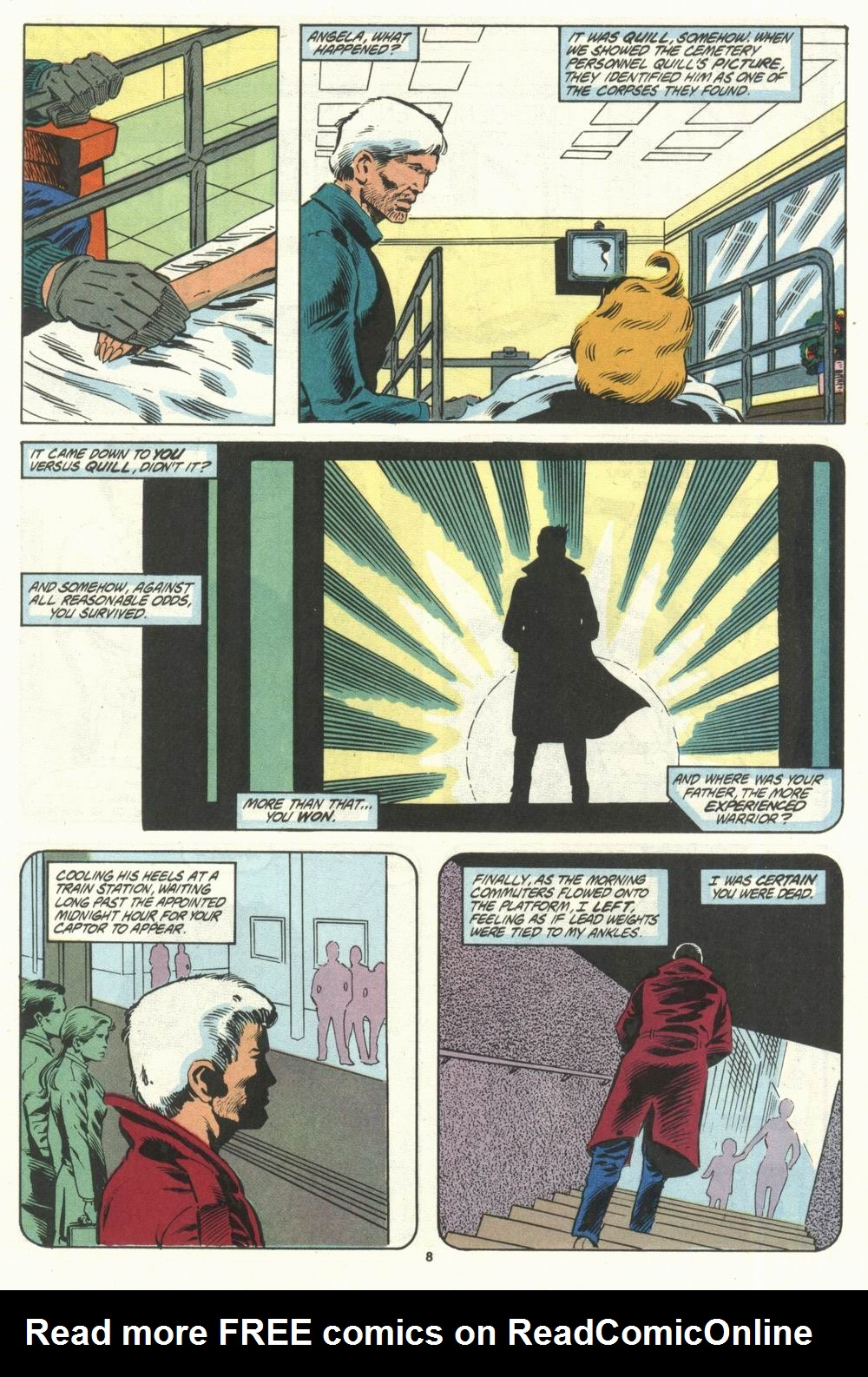 Read online Justice (1986) comic -  Issue #28 - 10