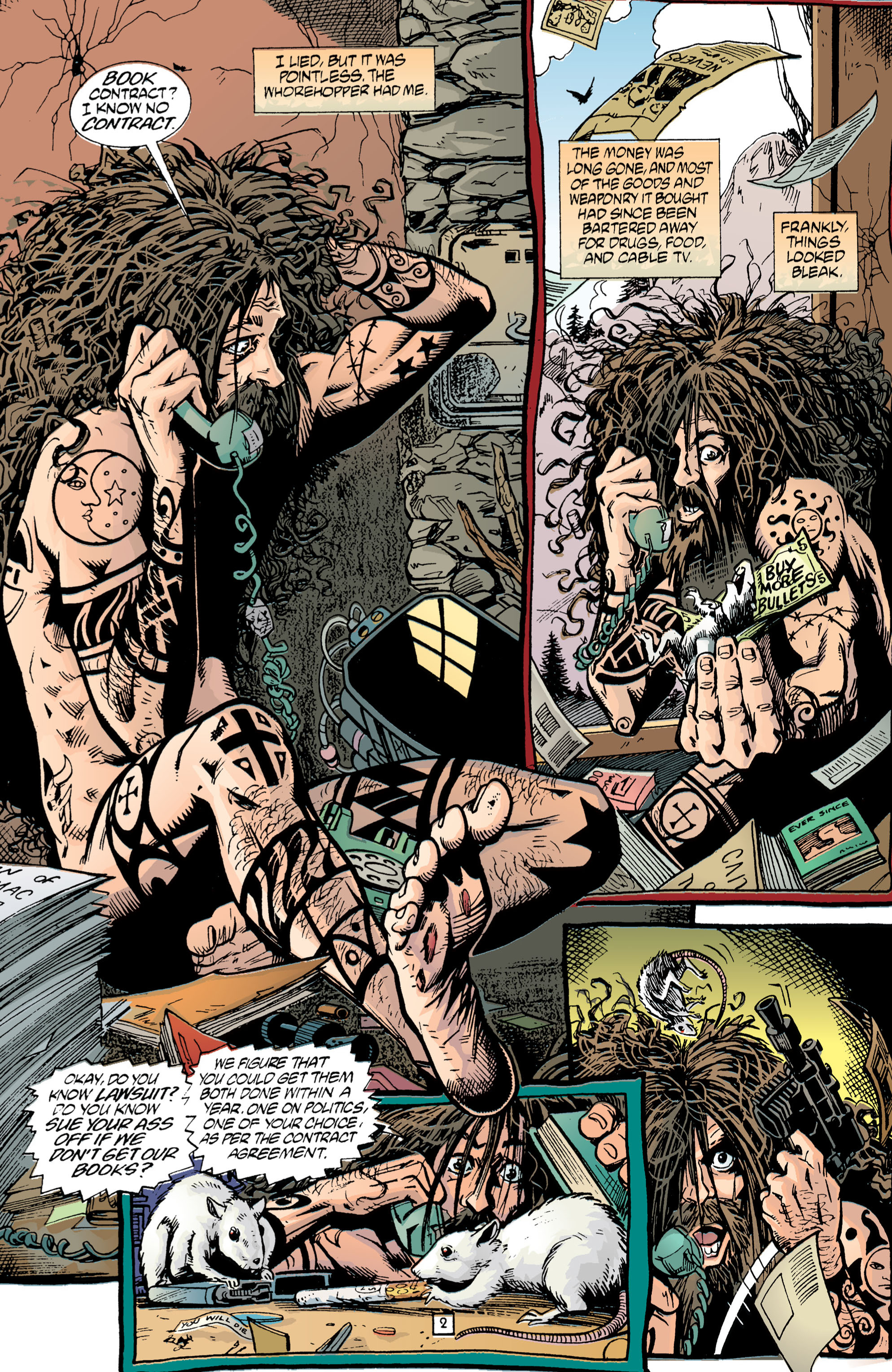 Read online Transmetropolitan comic -  Issue #1 - 3