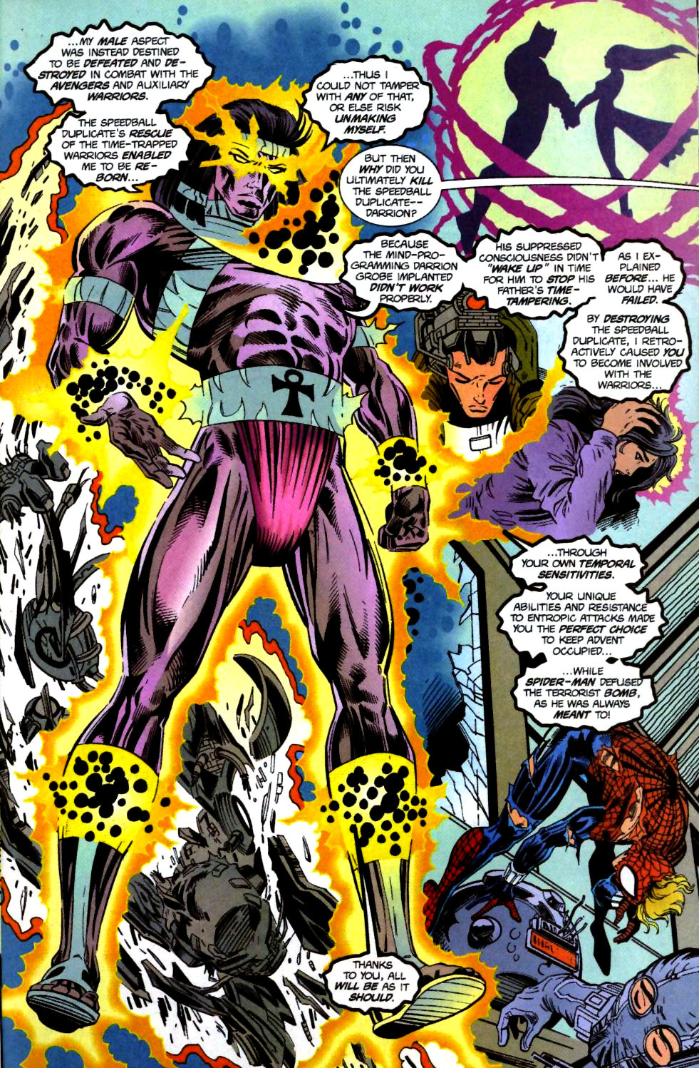 The New Warriors Issue #71 #75 - English 15