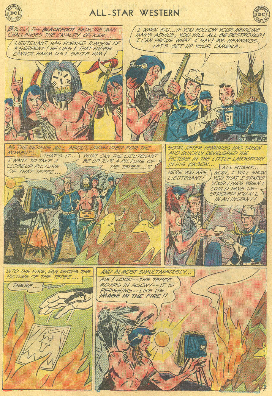 Read online All-Star Western (1951) comic -  Issue #114 - 19