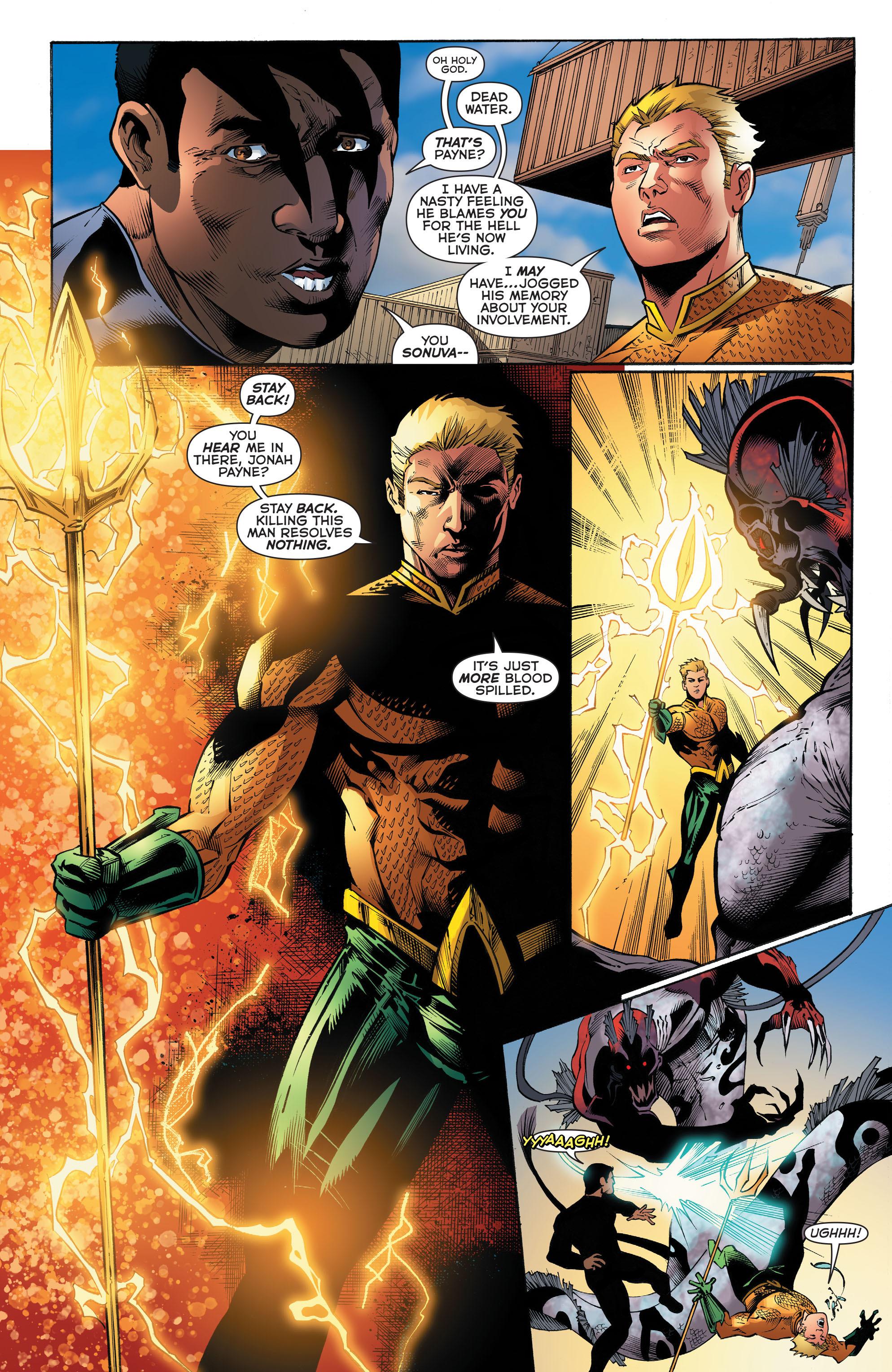 Read online Aquaman (2011) comic -  Issue #52 - 17