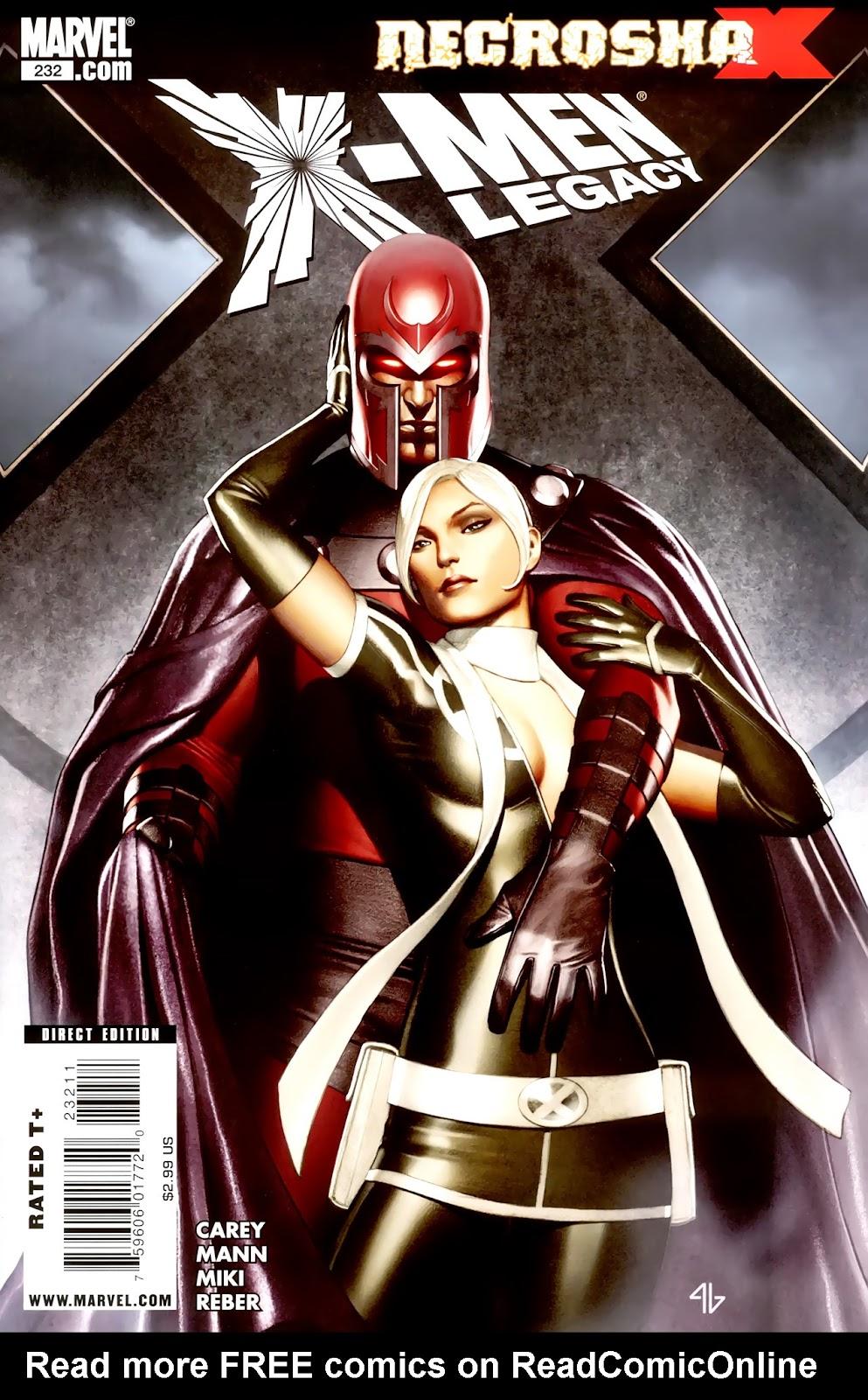 X-Men Legacy (2008) 232 Page 1